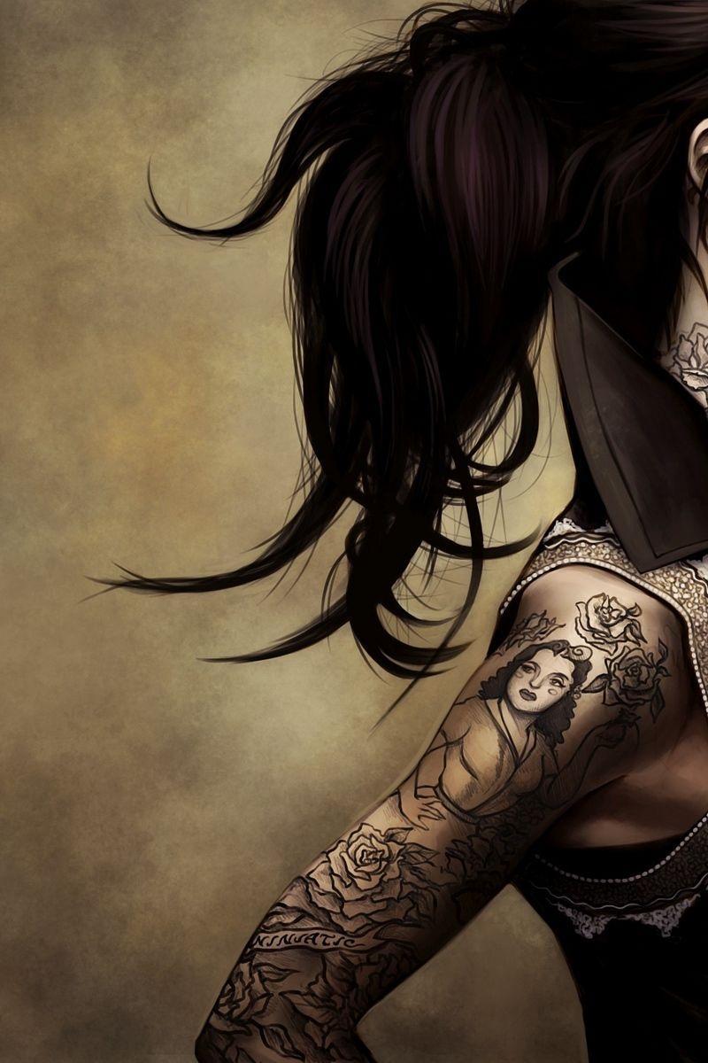 Tattoo Girl Iphone Hd Wallpapers Top Free Tattoo Girl Iphone Hd Backgrounds Wallpaperaccess