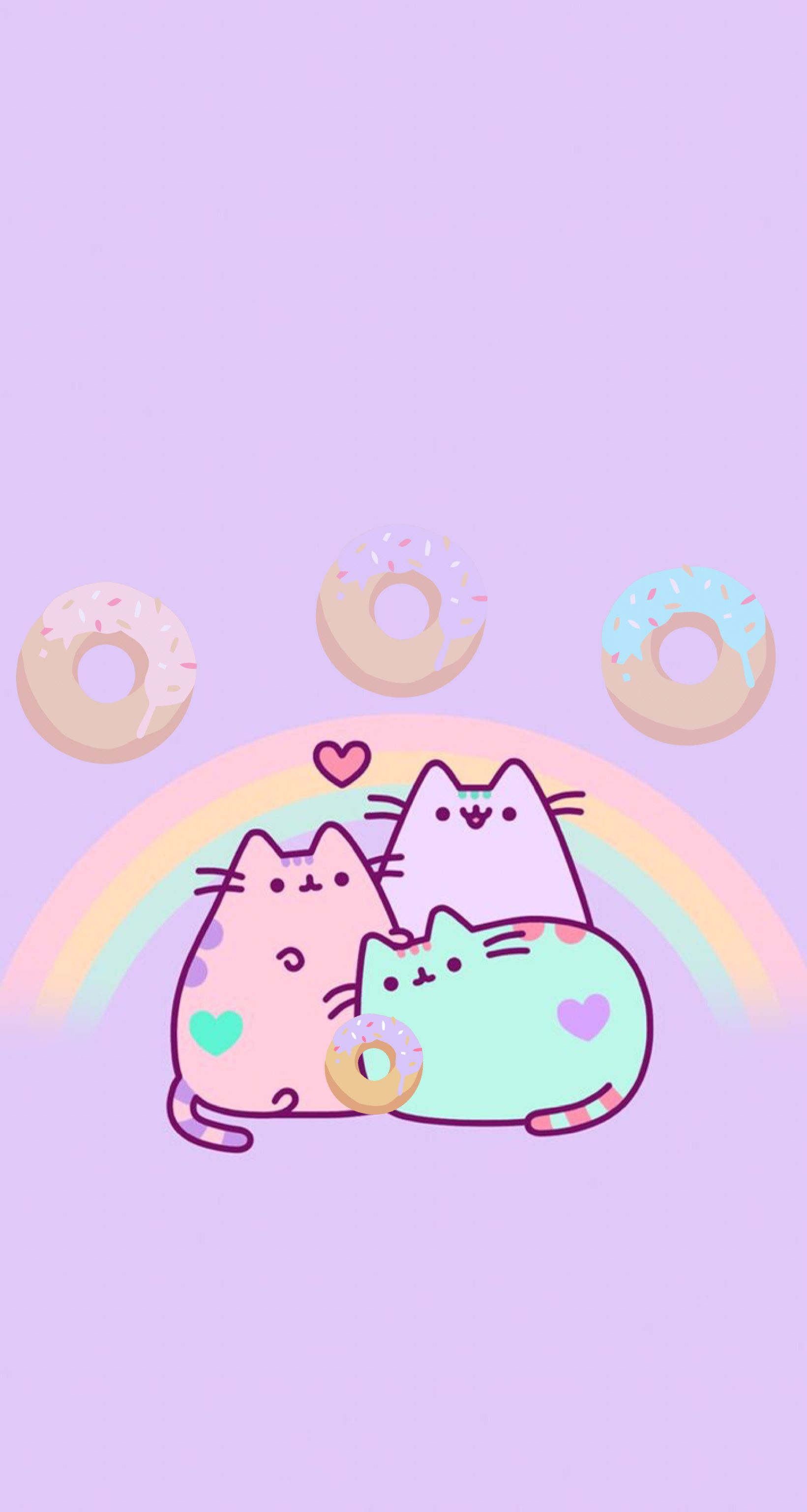 Rainbow Pusheen Wallpapers Top Free Rainbow Pusheen Backgrounds Wallpaperaccess