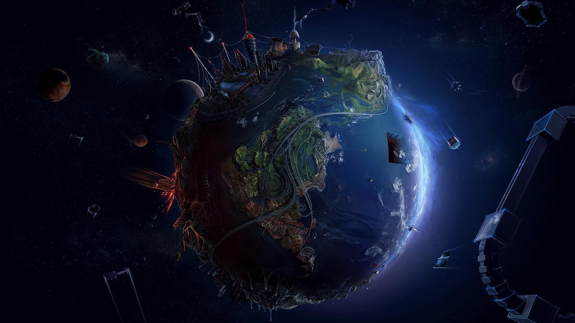 Cool Earth Wallpapers Top Free Cool Earth Backgrounds Wallpaperaccess