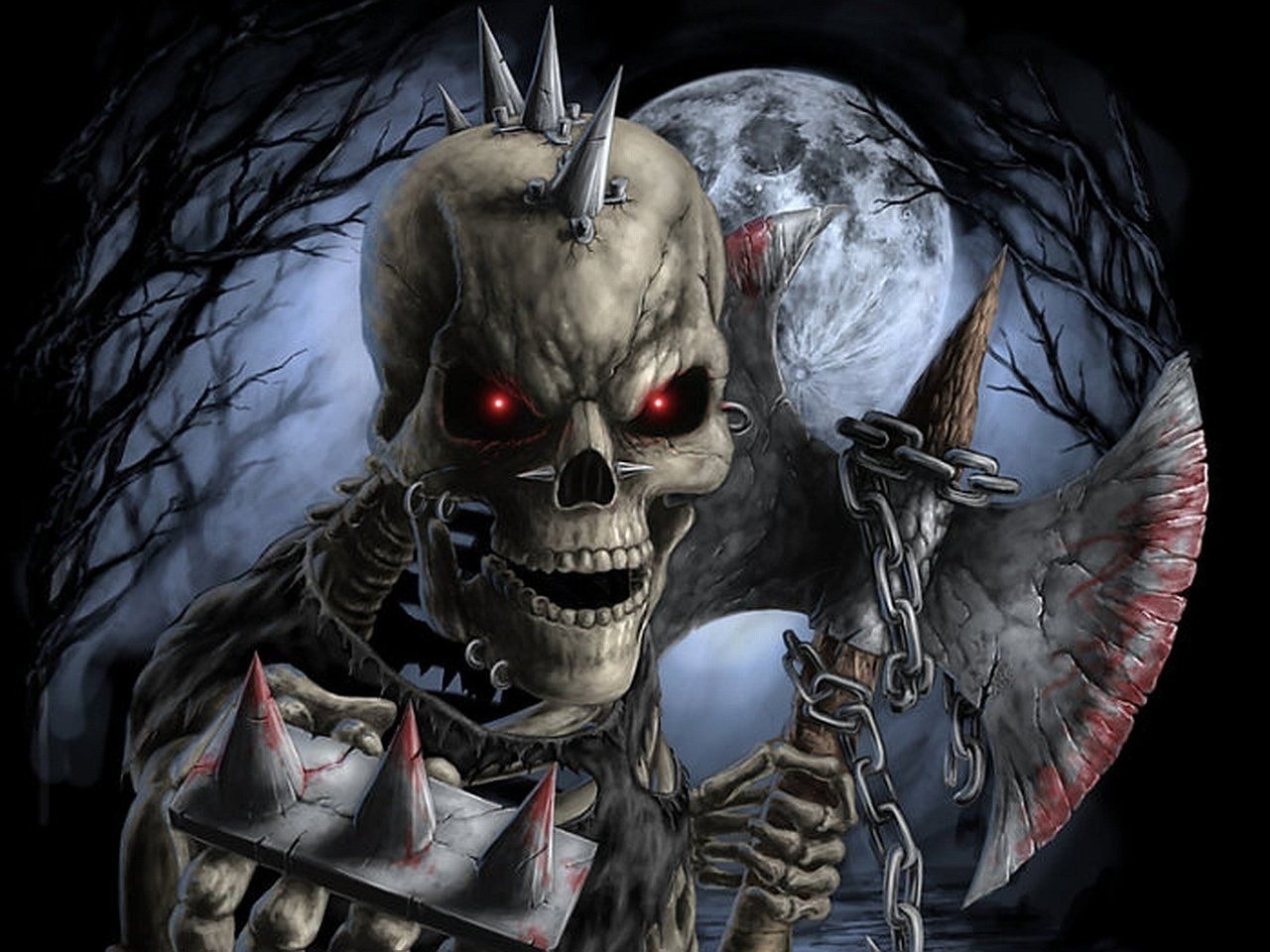 Hình nền và hình nền HD 1280x960 Skeleton