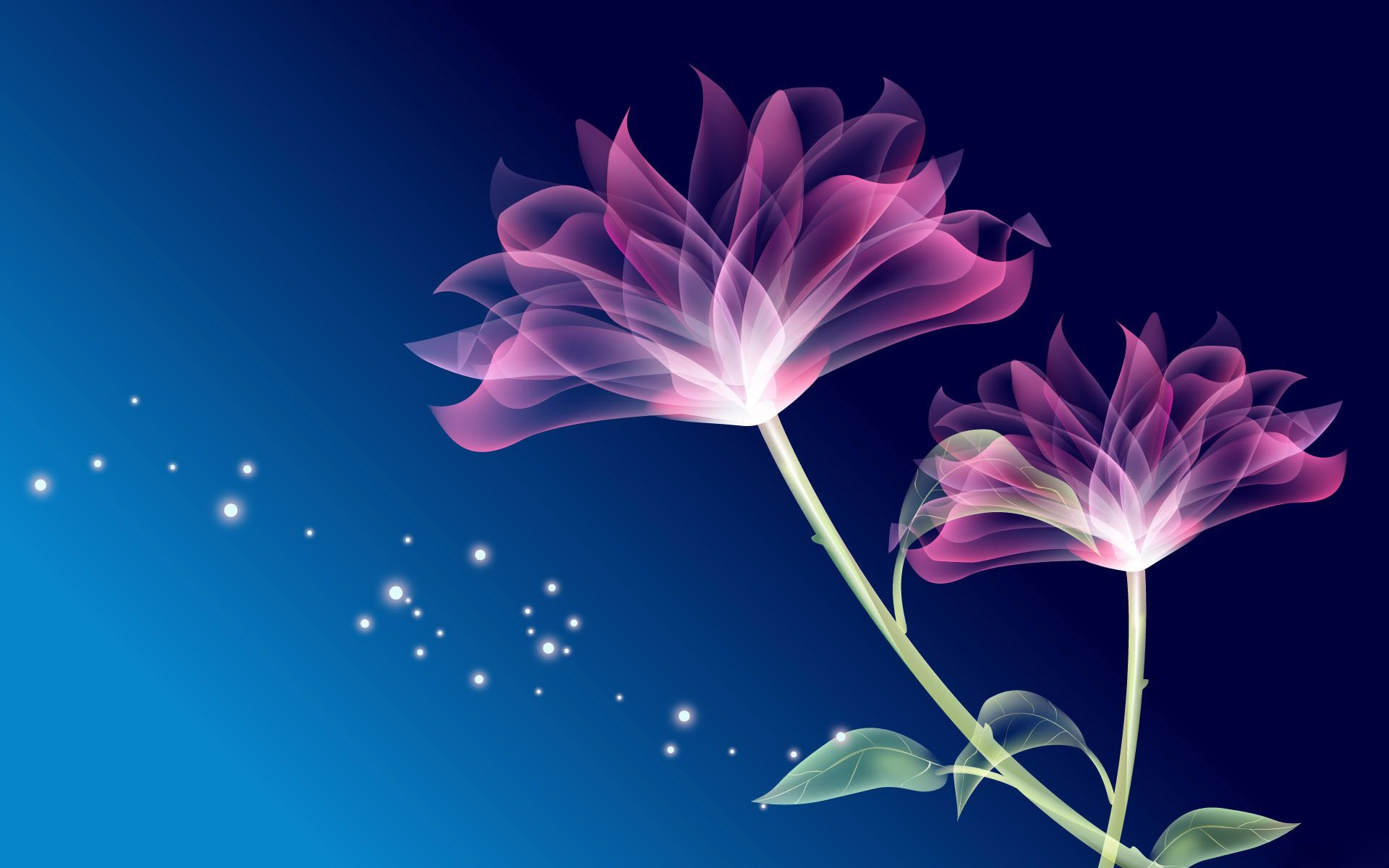 Neon Flowers Wallpapers Top Free Neon Flowers Backgrounds