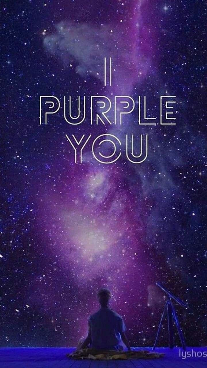 I Purple You Wallpapers Top Free I Purple You Backgrounds Wallpaperaccess