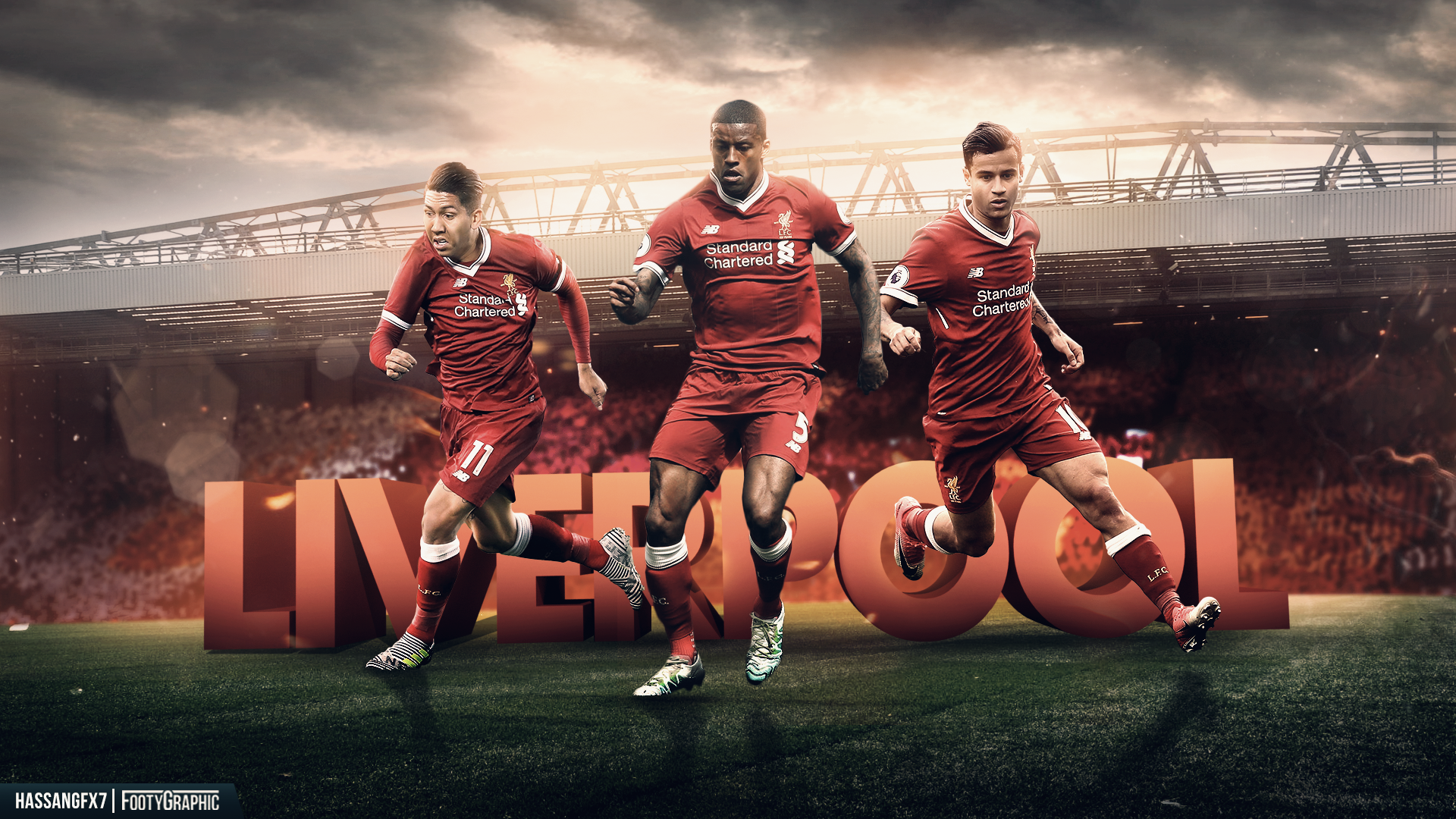 Liverpool Players Wallpapers Top Free Liverpool Players Backgrounds Wallpaperaccess