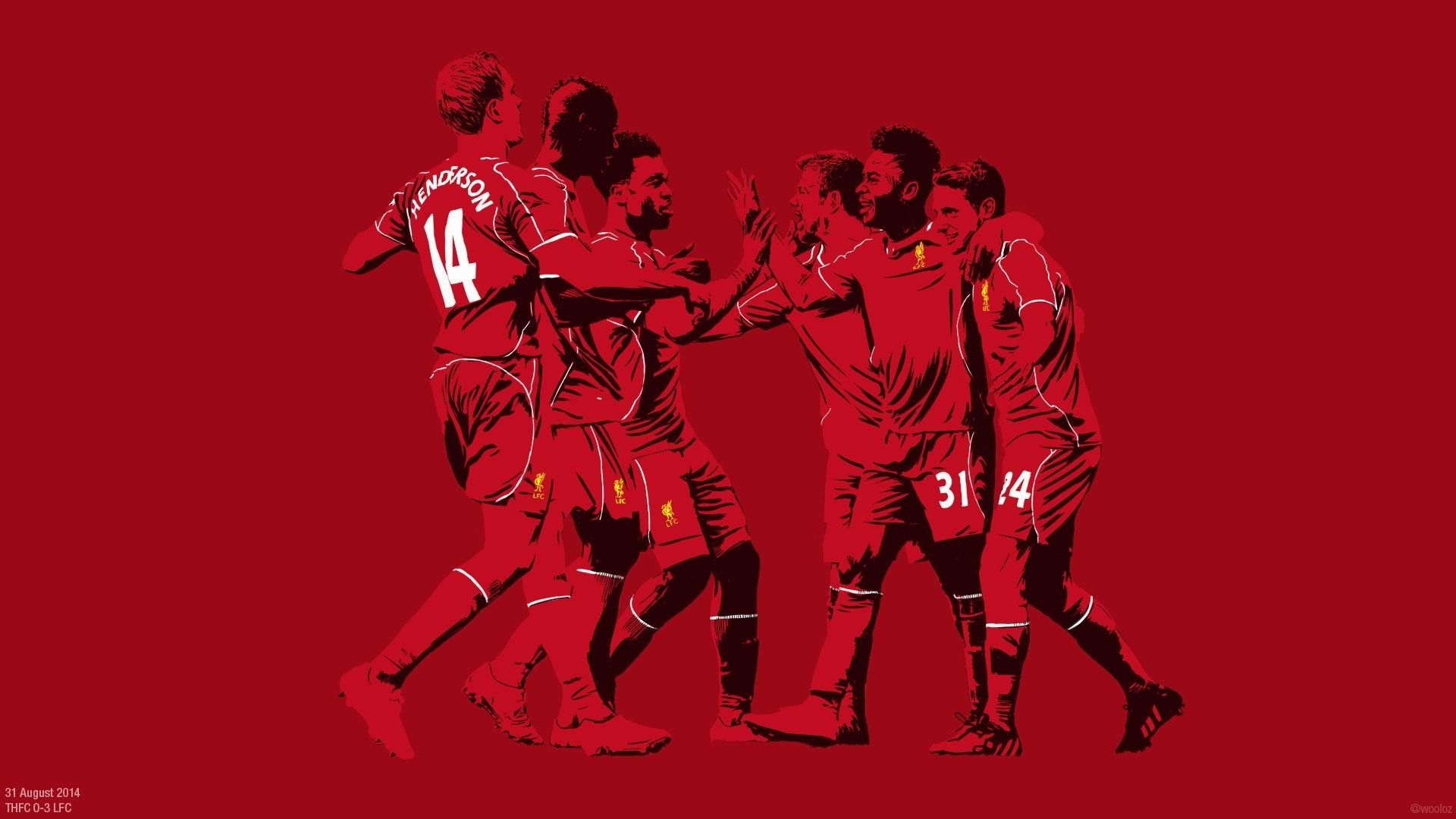 Liverpool Players Wallpapers
