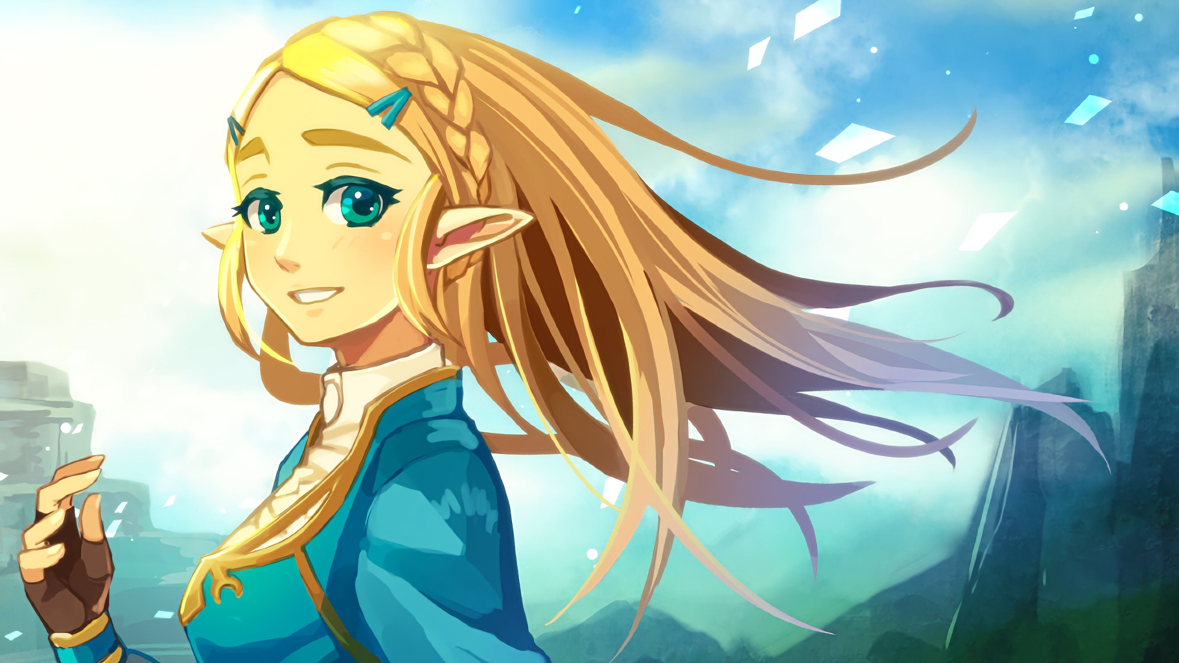 Pin by Oi Ling Wong on A-插畫601-650 in 2020 | Anime, Zelda