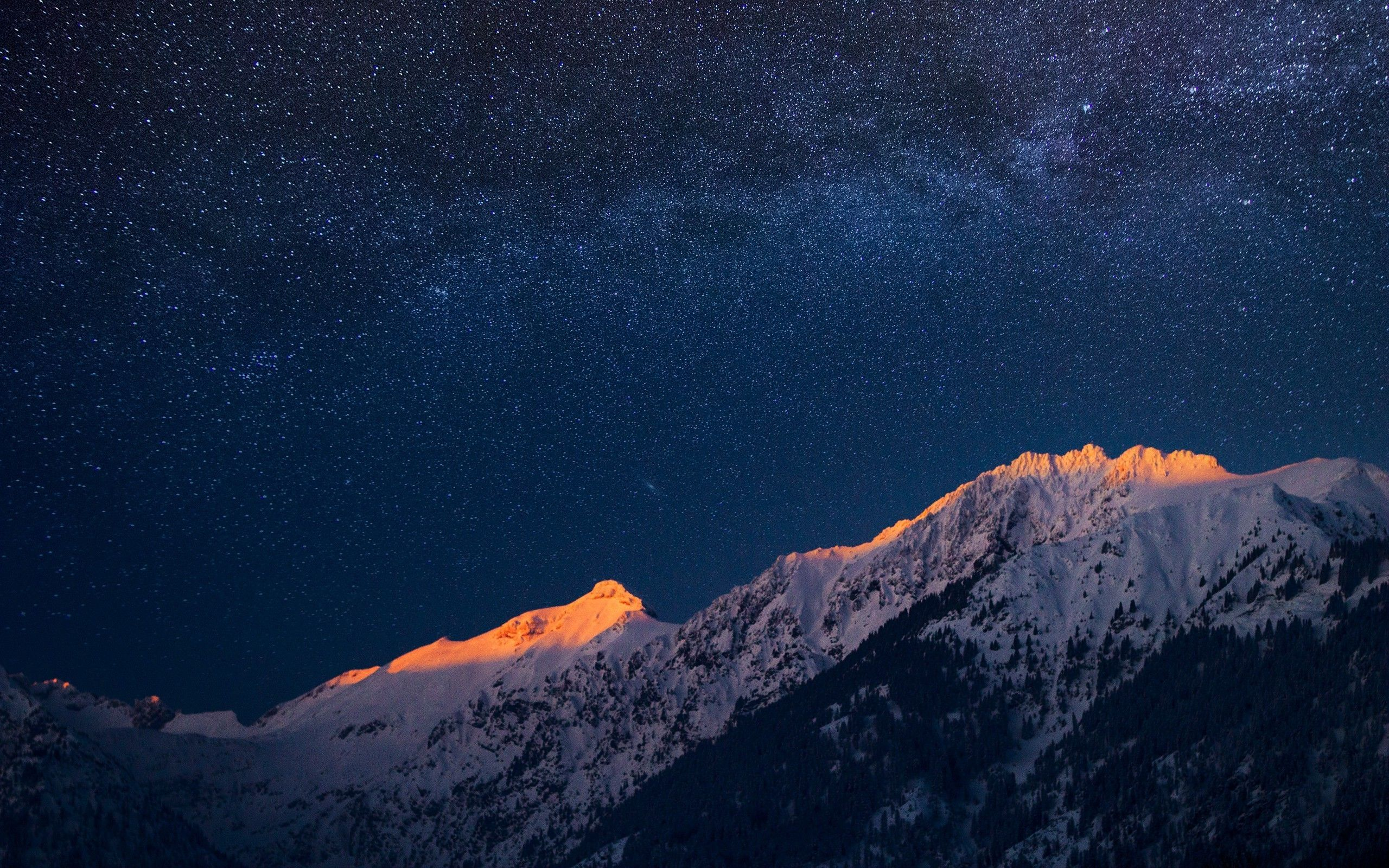 Night Mountain Wallpapers Top Free Night Mountain Backgrounds Wallpaperaccess
