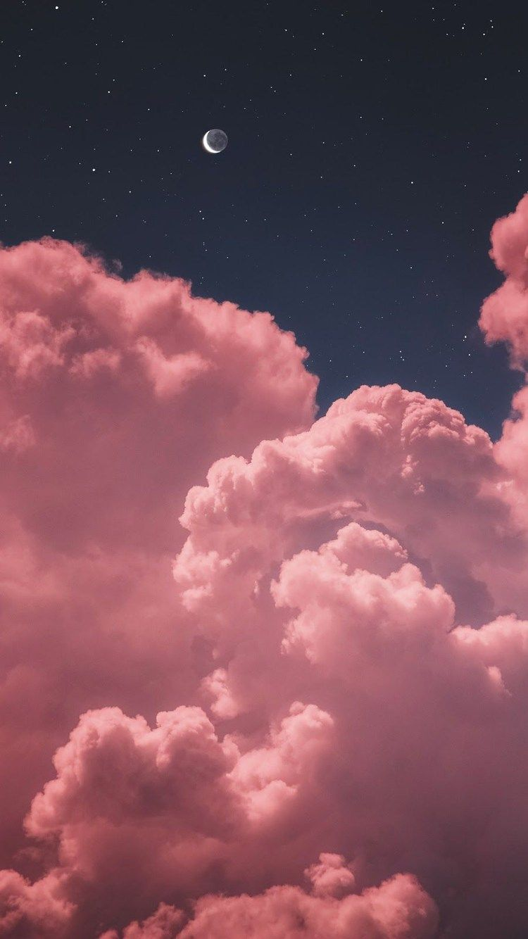 Pink Cloud Iphone Wallpapers Top Free Pink Cloud Iphone Backgrounds Wallpaperaccess