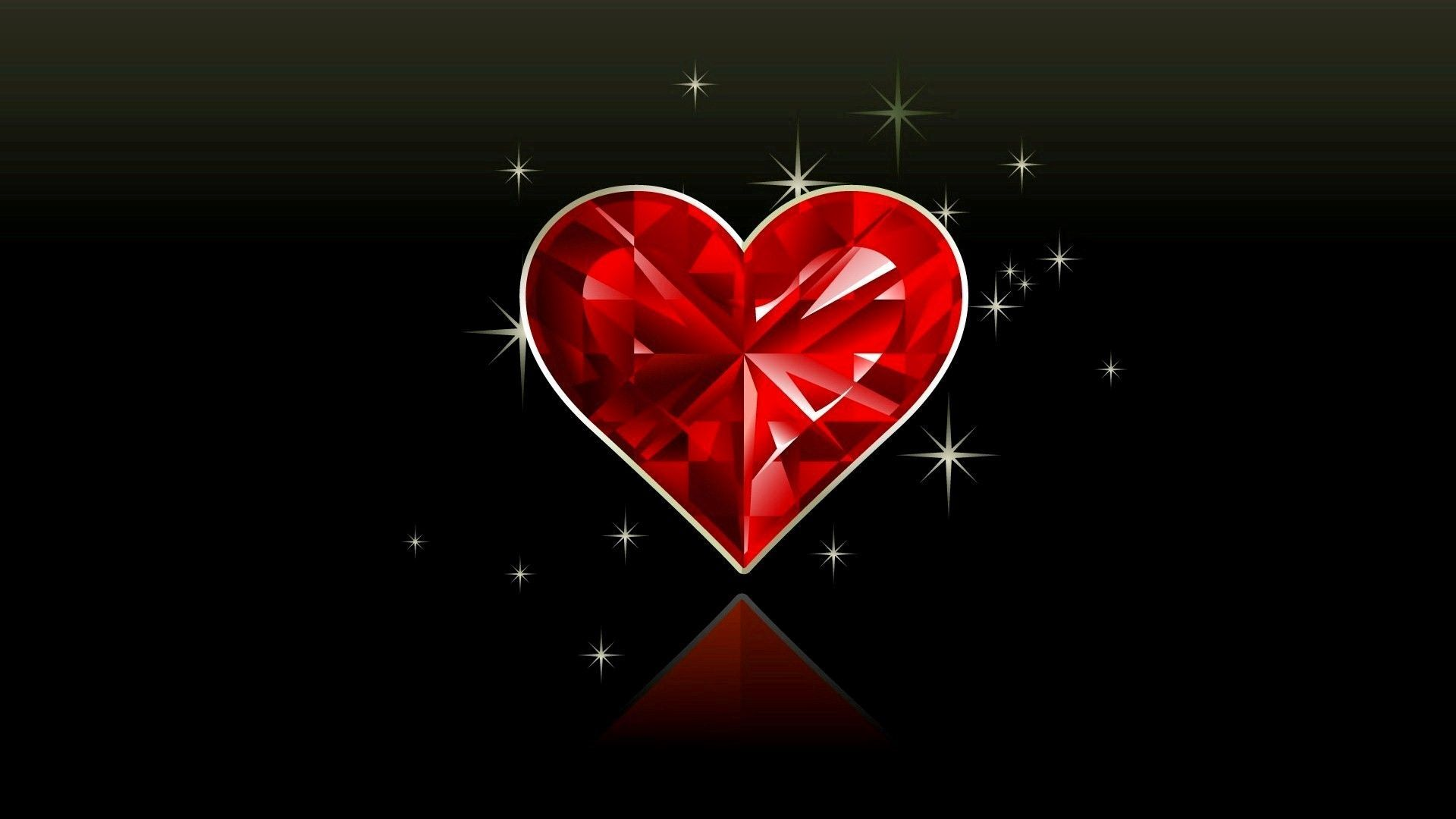 Crystal Heart Wallpapers Top Free Crystal Heart Backgrounds Wallpaperaccess