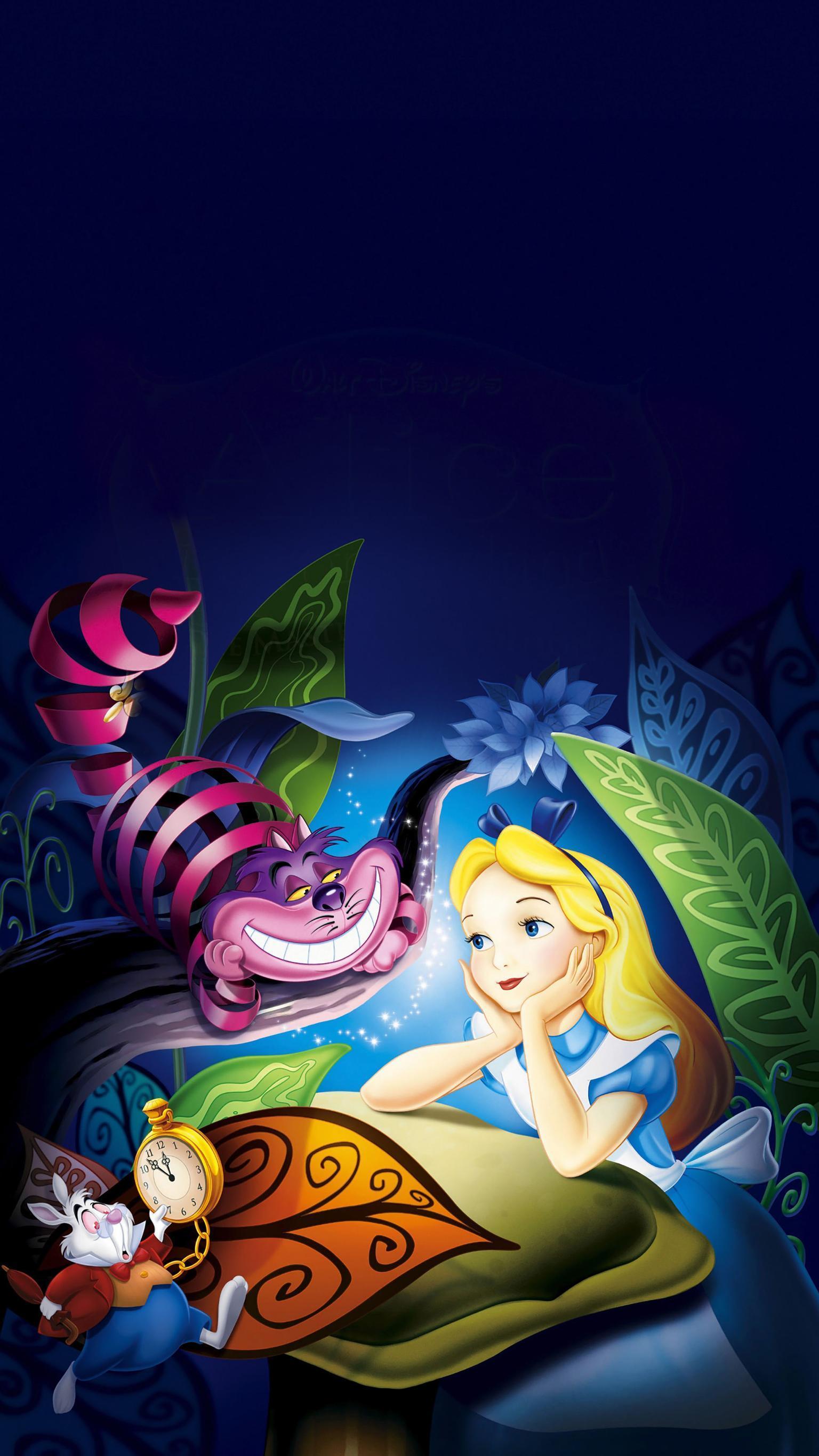 Alice in Wonderland Cartoon Wallpapers - Top Free Alice in ...