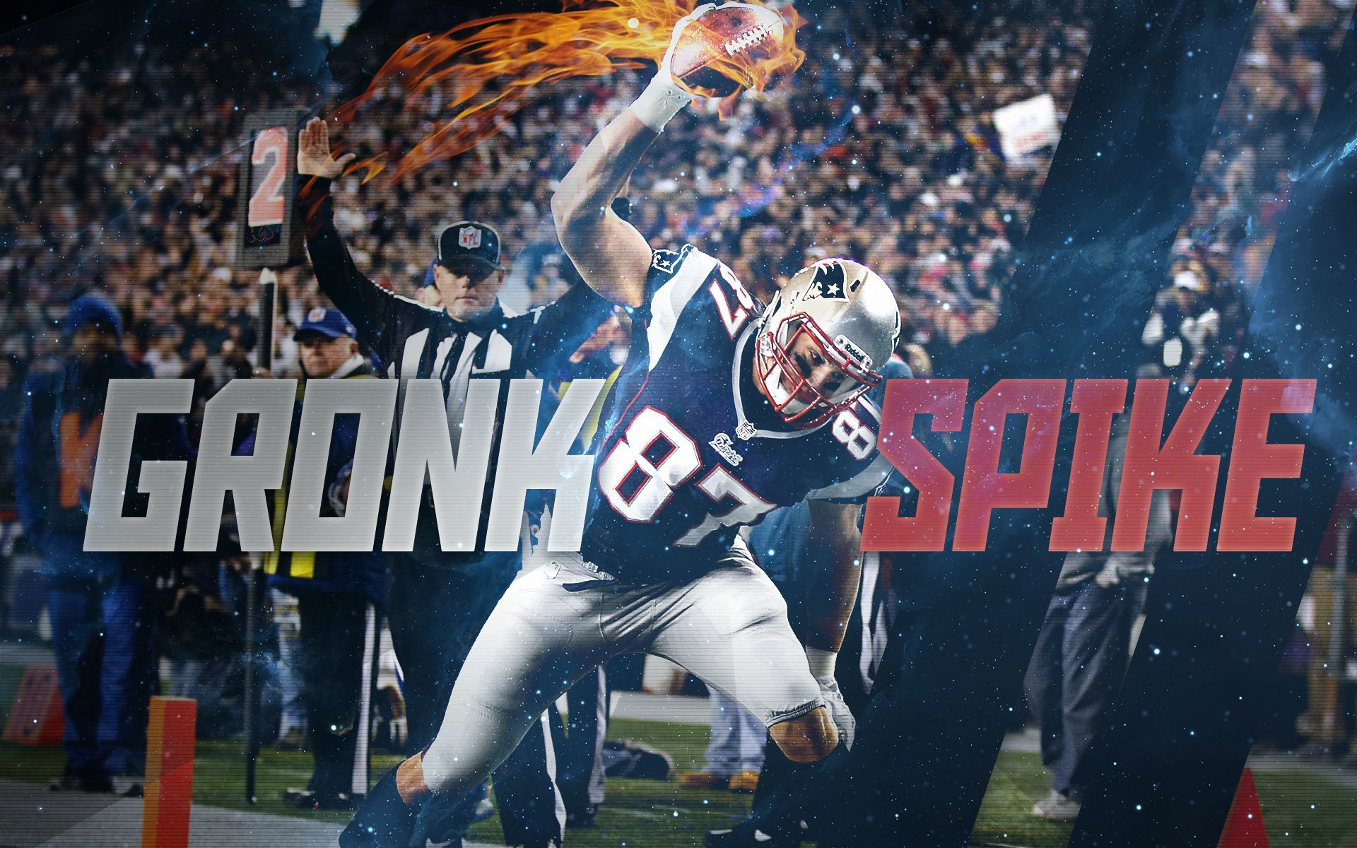 Rob Gronkowski Patriots Wallpapers