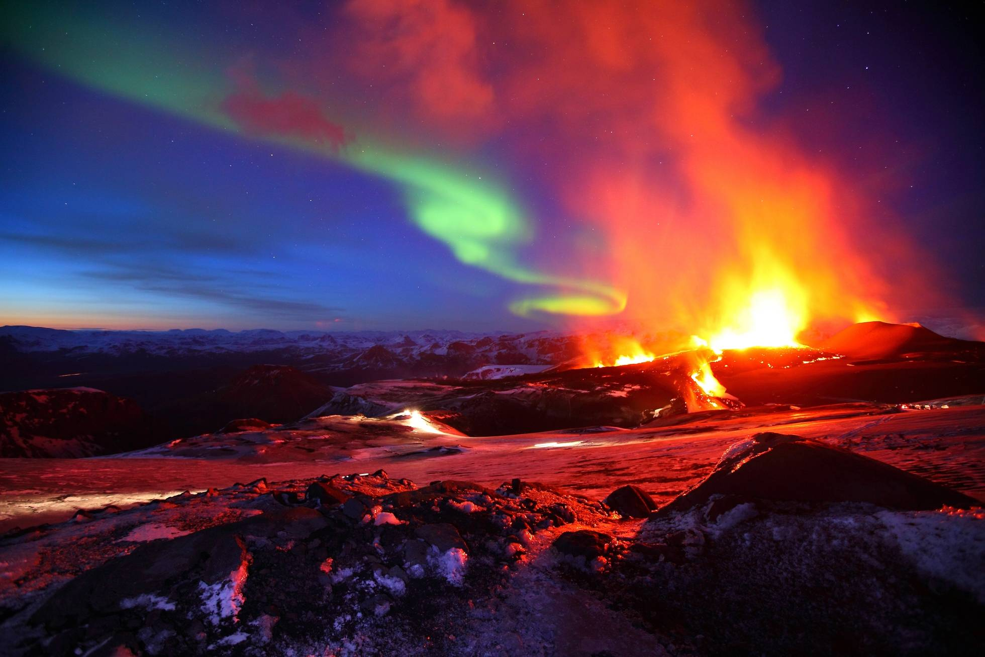 Iceland Volcano Wallpapers - Top Free Iceland Volcano Backgrounds -  WallpaperAccess