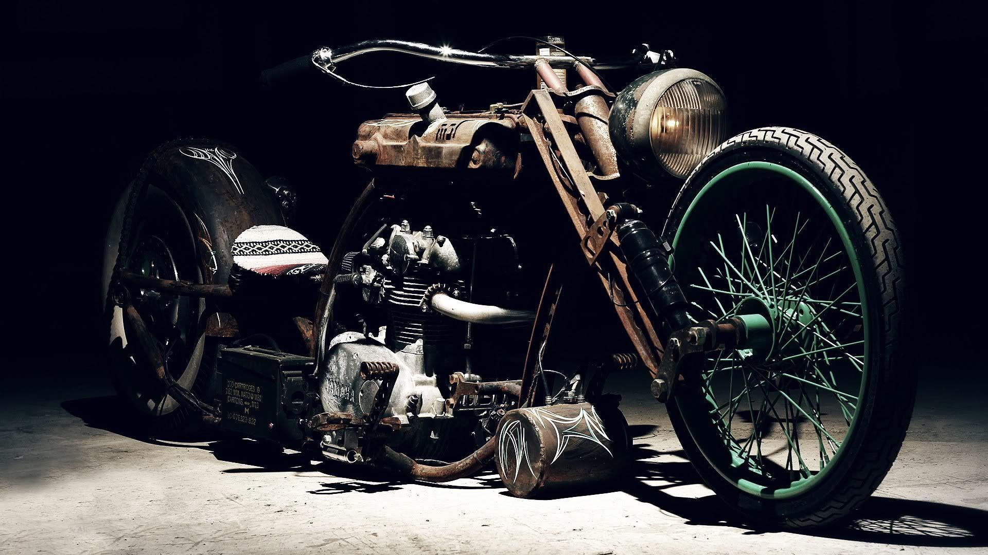 41 Best Free Vintage Harley Davidson Wallpapers Wallpaperaccess
