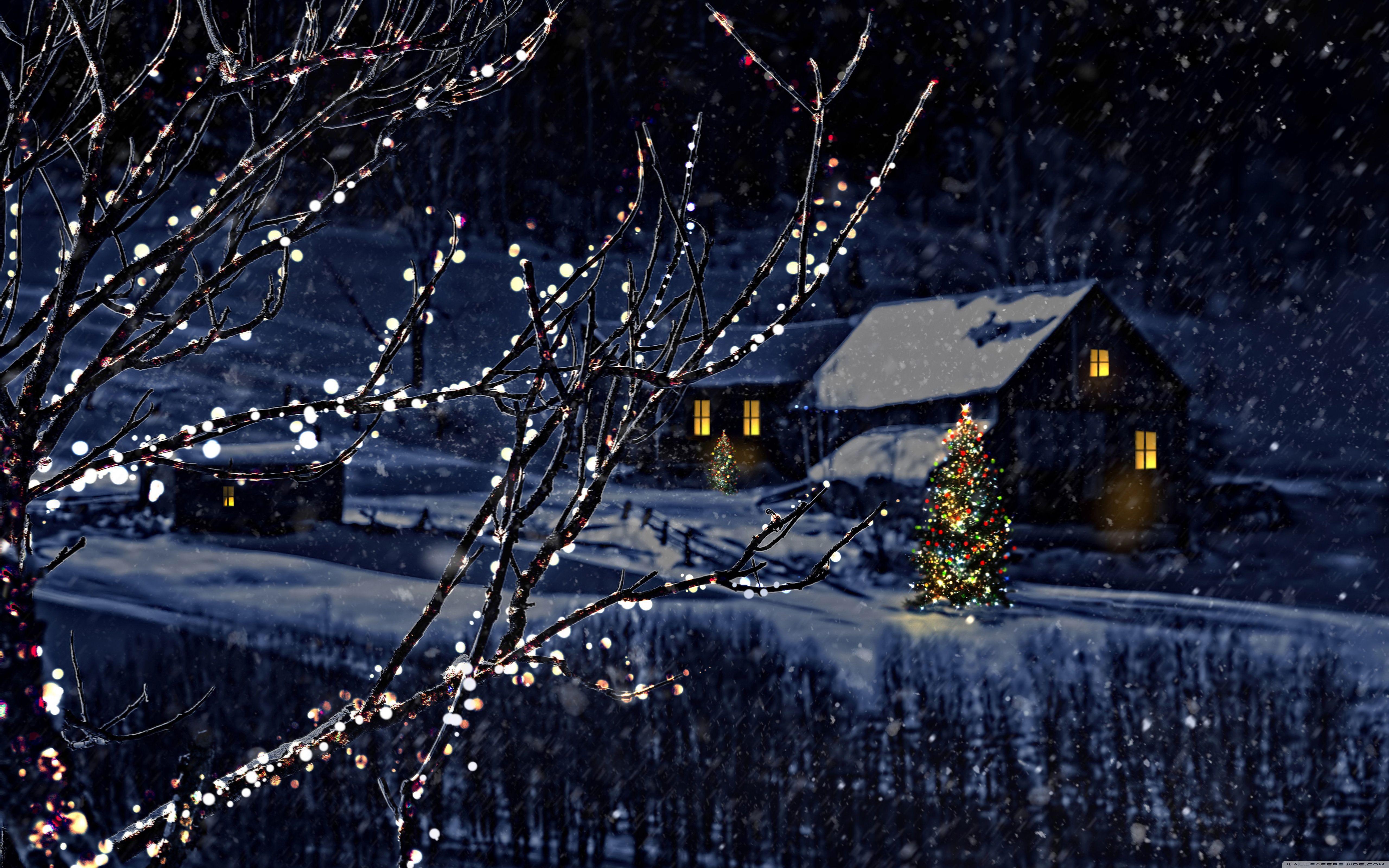 Christmas Night Wallpapers Top Free Christmas Night