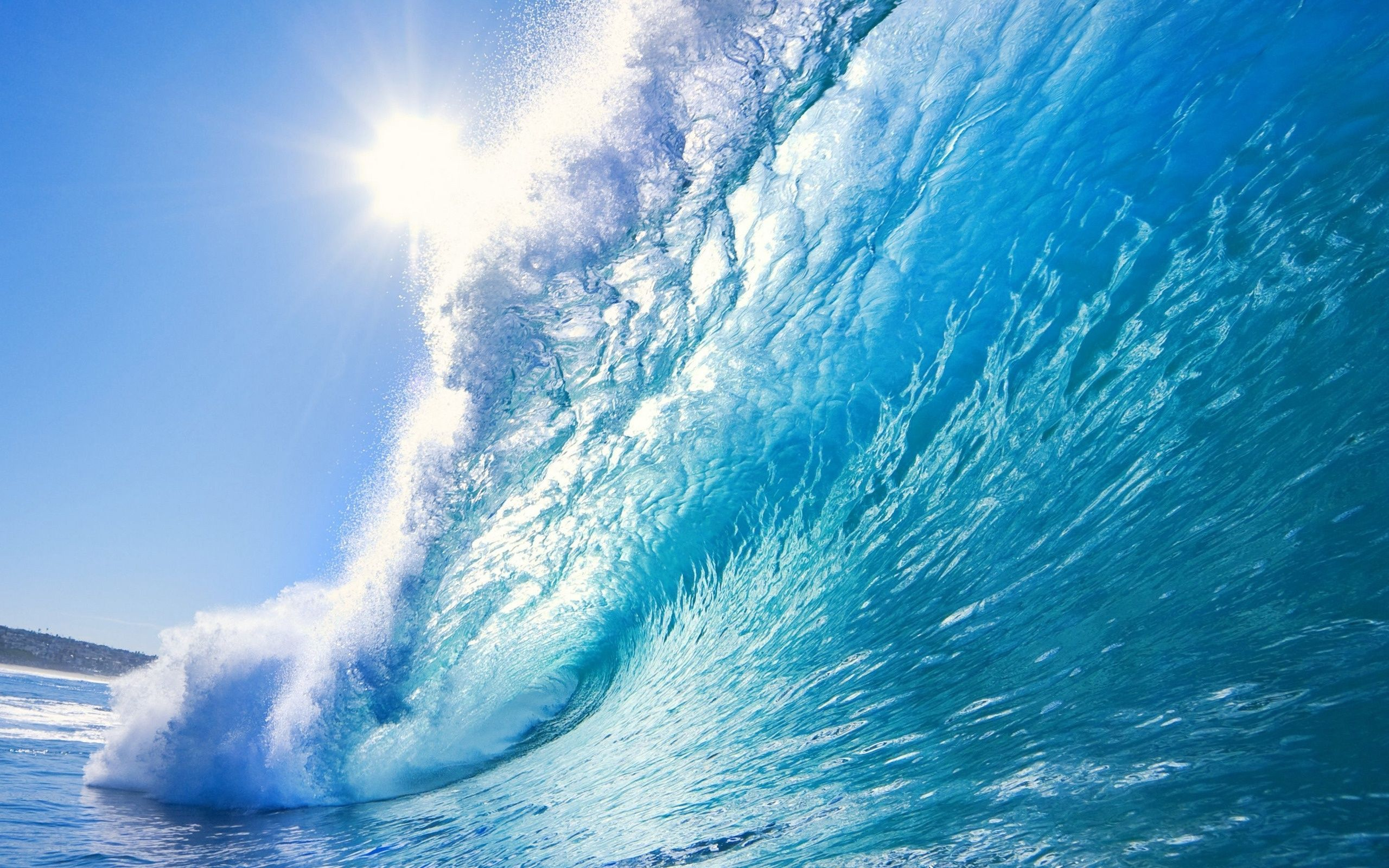 Ocean Waves Wallpapers Top Free Ocean Waves Backgrounds Wallpaperaccess