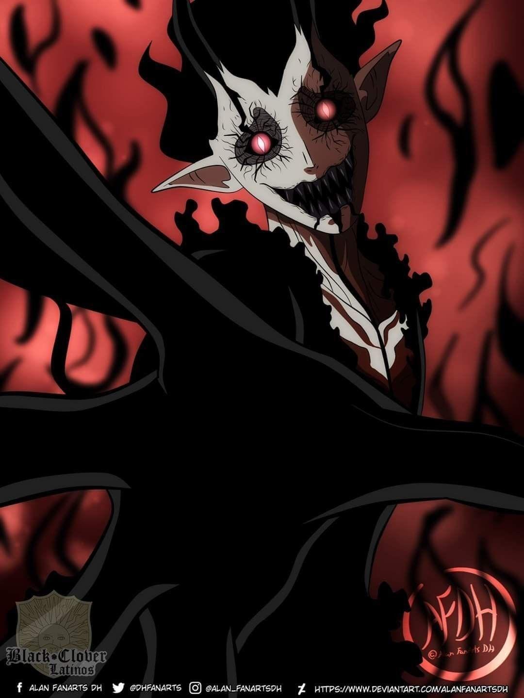 Black Clover Devil Wallpapers Top Free Black Clover Devil Backgrounds Wallpaperaccess