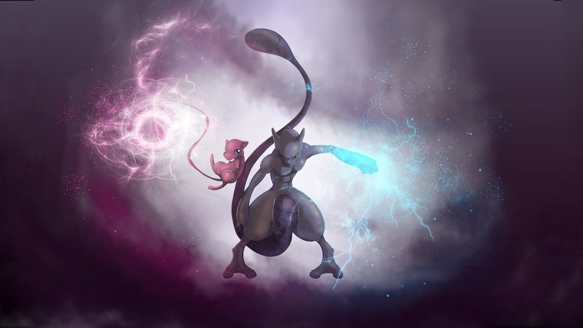Mew And Mewtwo Wallpapers Top Free Mew And Mewtwo