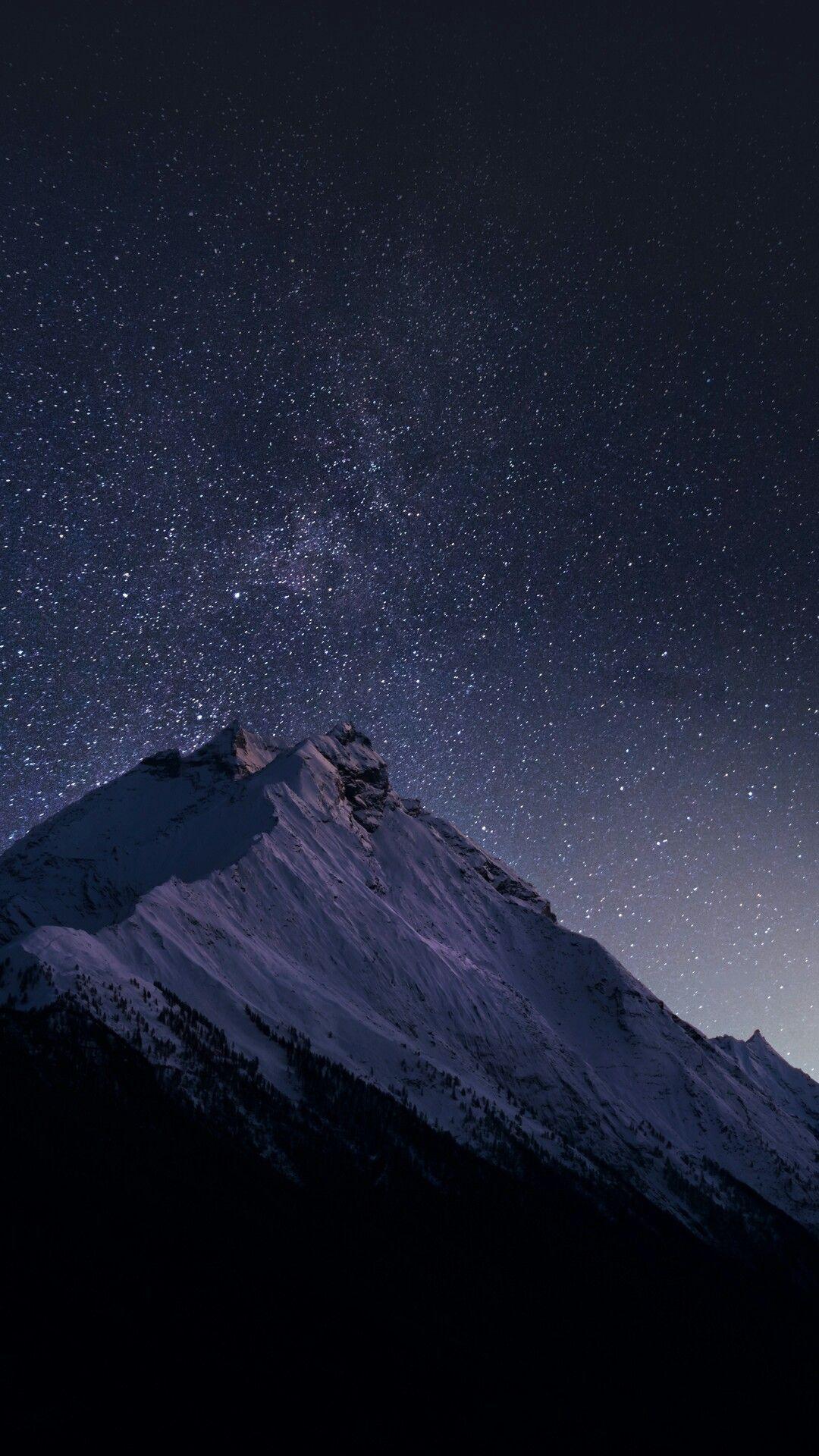 Night Mountain iPhone Wallpapers   Top Free Night Mountain iPhone ...