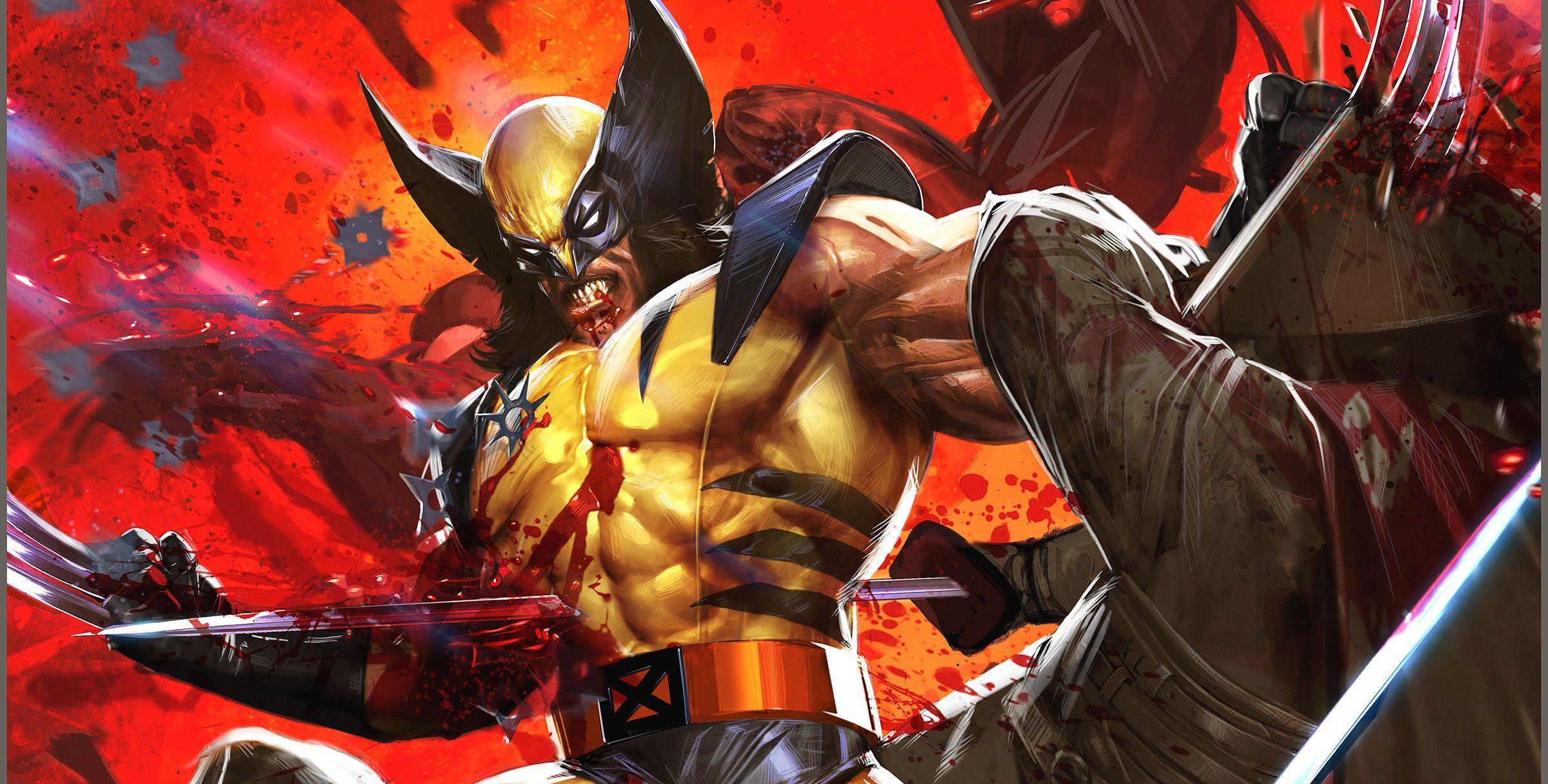 Bloody Wolverine Comic Phone Wallpapers Top Free Bloody