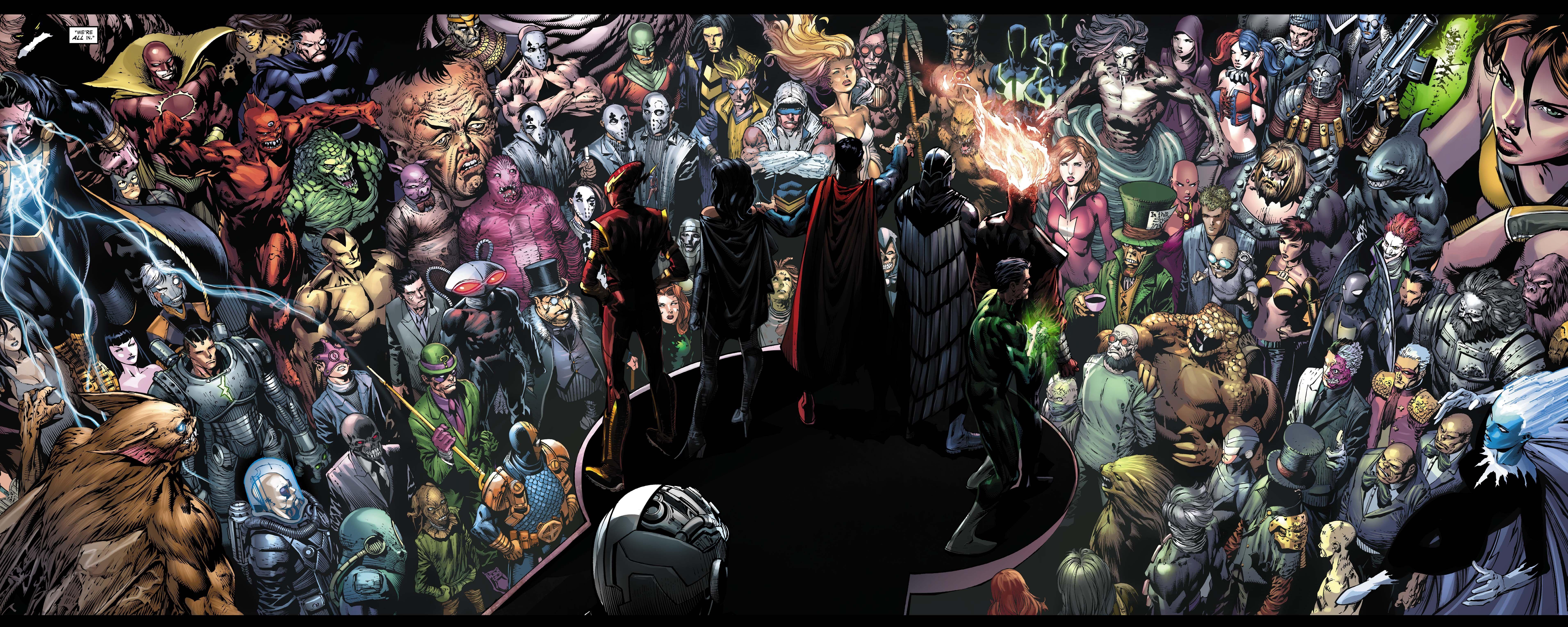 Dc Comics Wallpapers Top Free Dc Comics Backgrounds