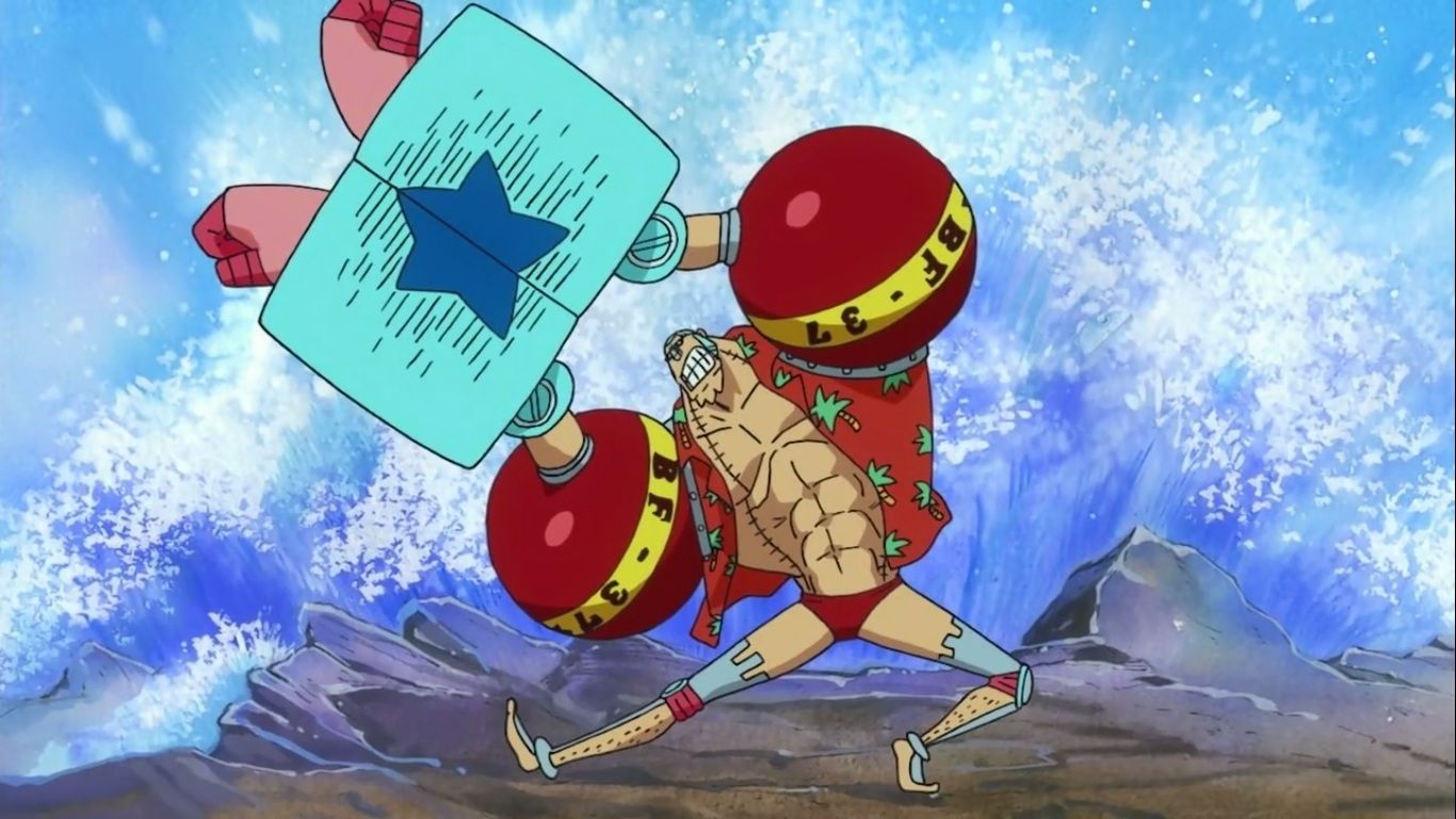 One Piece Franky Wallpapers Top Free One Piece Franky Backgrounds Wallpaperaccess