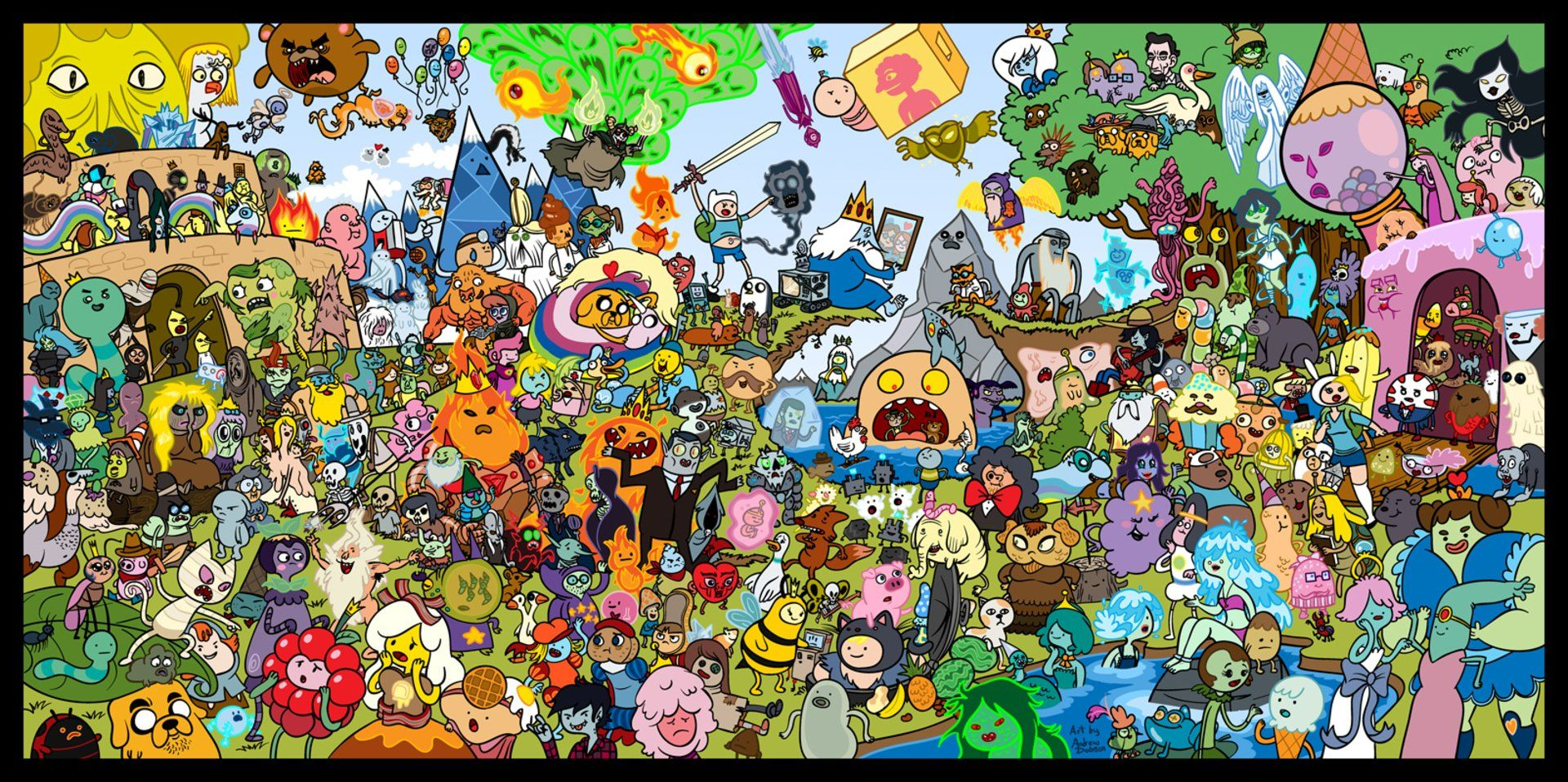 Adventure Time Computer Wallpapers Top Free Adventure Time