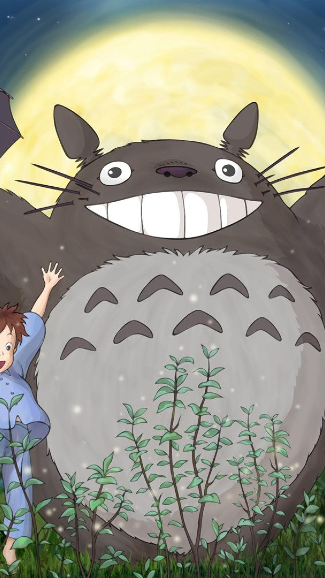 Totoro Smartphone Wallpapers Top Free Totoro Smartphone