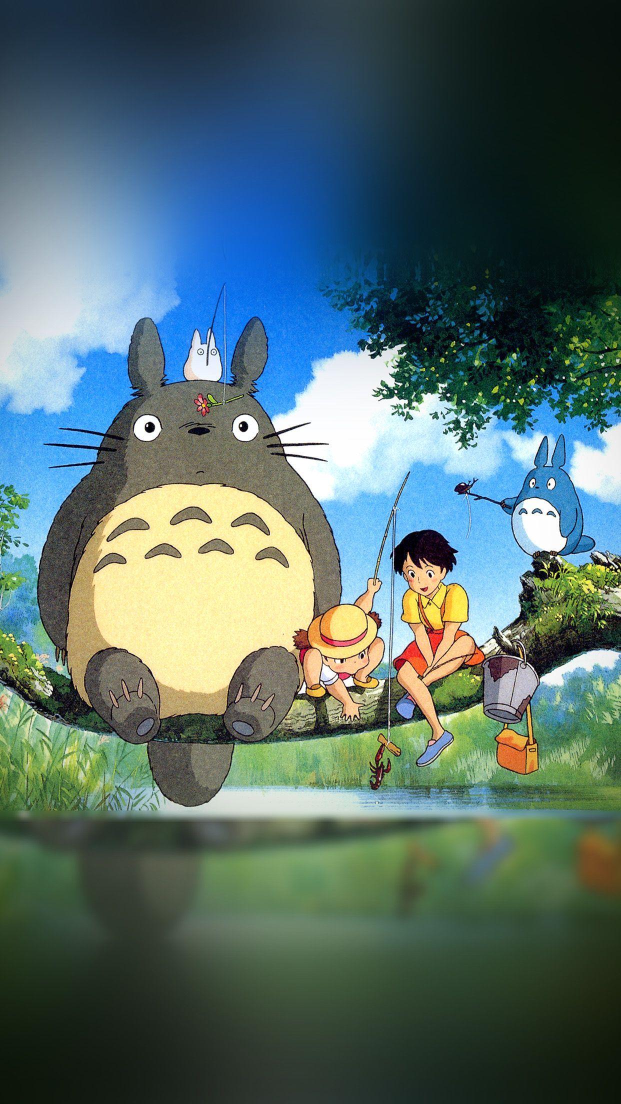 Totoro smartphone wallpapers top free totoro smartphone - Totoro wallpaper iphone ...