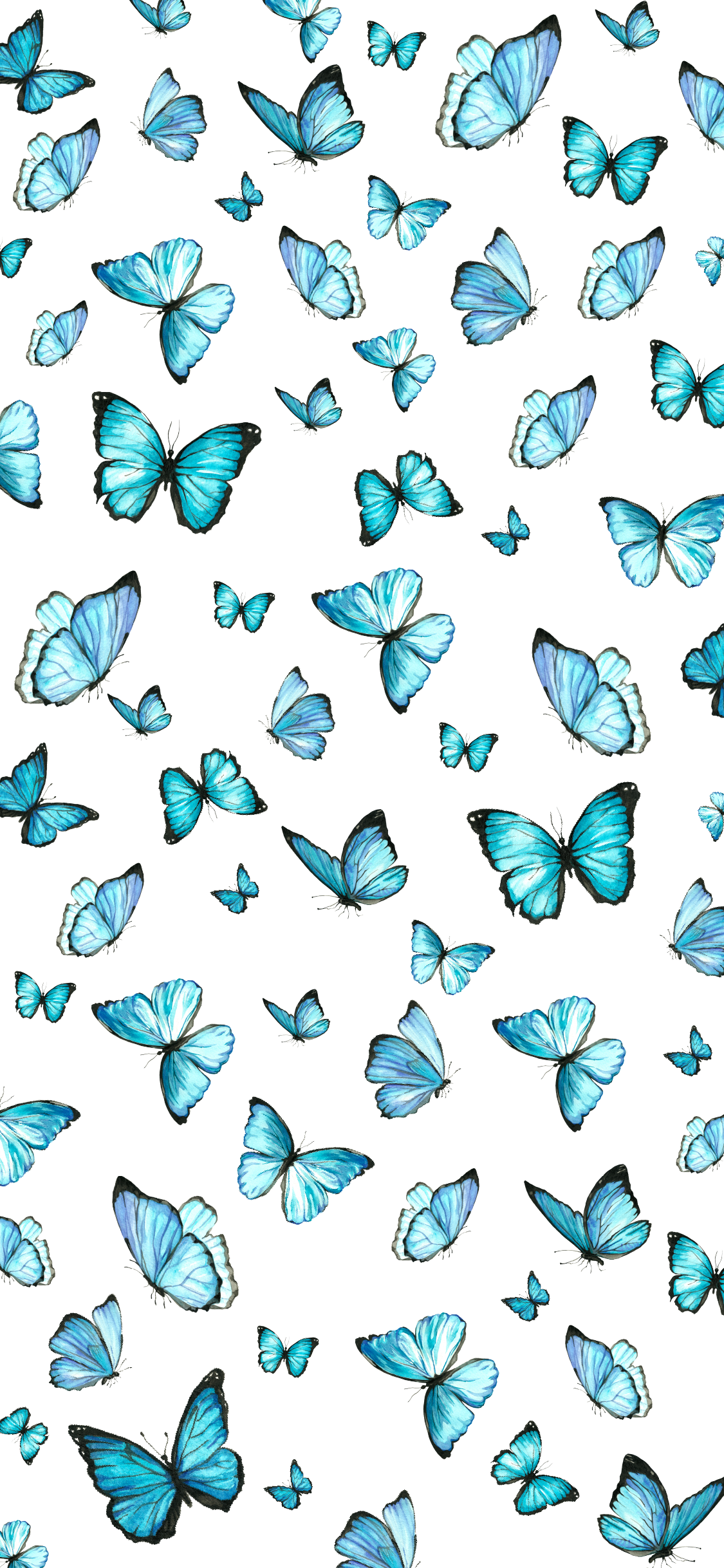Blue Butterfly Aesthetic Wallpapers Top Free Blue Butterfly Aesthetic Backgrounds Wallpaperaccess
