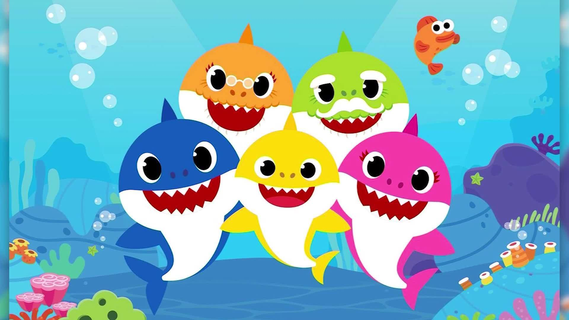 Baby Shark Happy Birthday Banner Doo Garland Shark Theme Party Supplies For Kids Baby Shower Party And Children Birthdays Party Decorations Set Of 15 Flags Buy Online In Bosnia And Herzegovina At