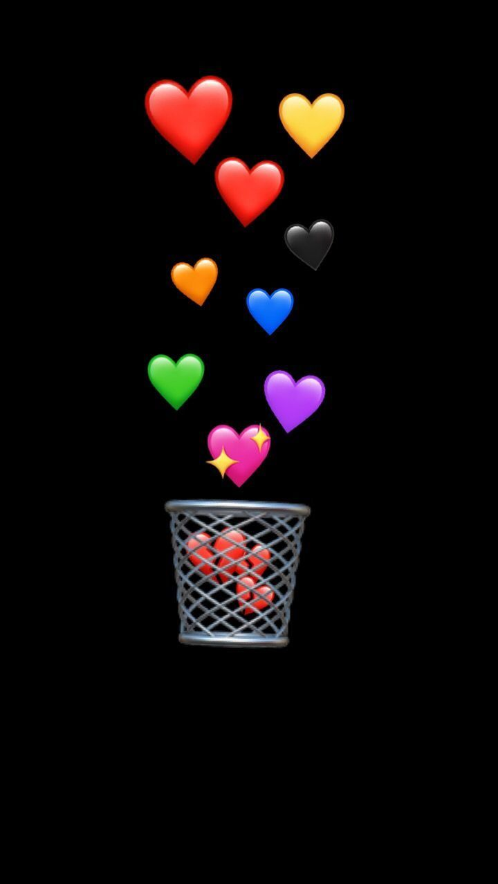 Black Emoji Wallpapers Top Free Black Emoji Backgrounds Wallpaperaccess