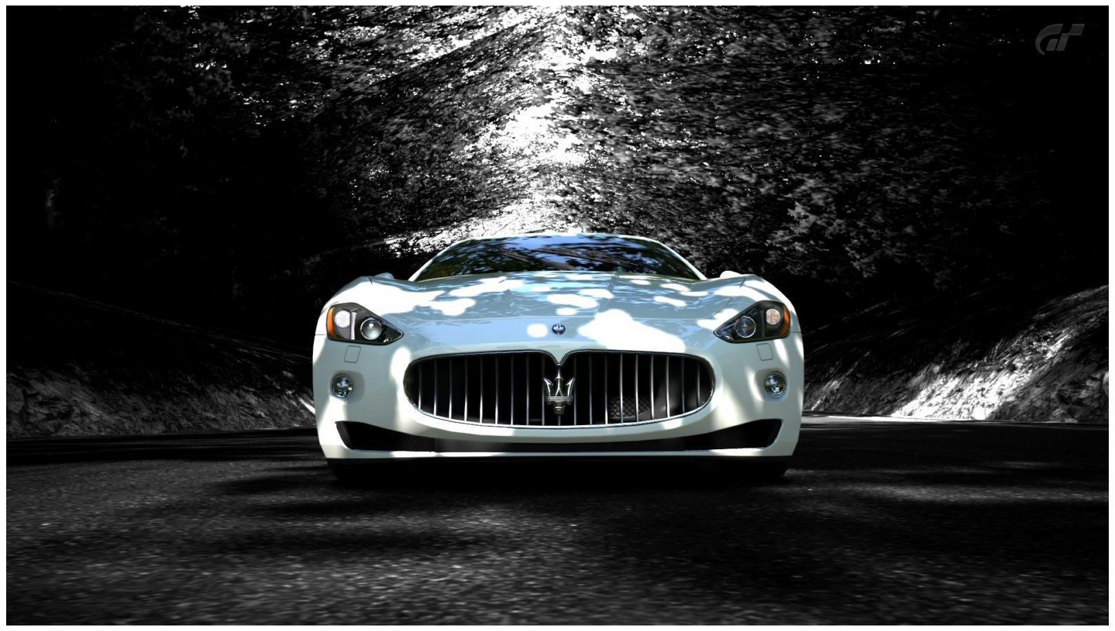 Hình nền xe Maserati Granturismo HD 1618x916 mới