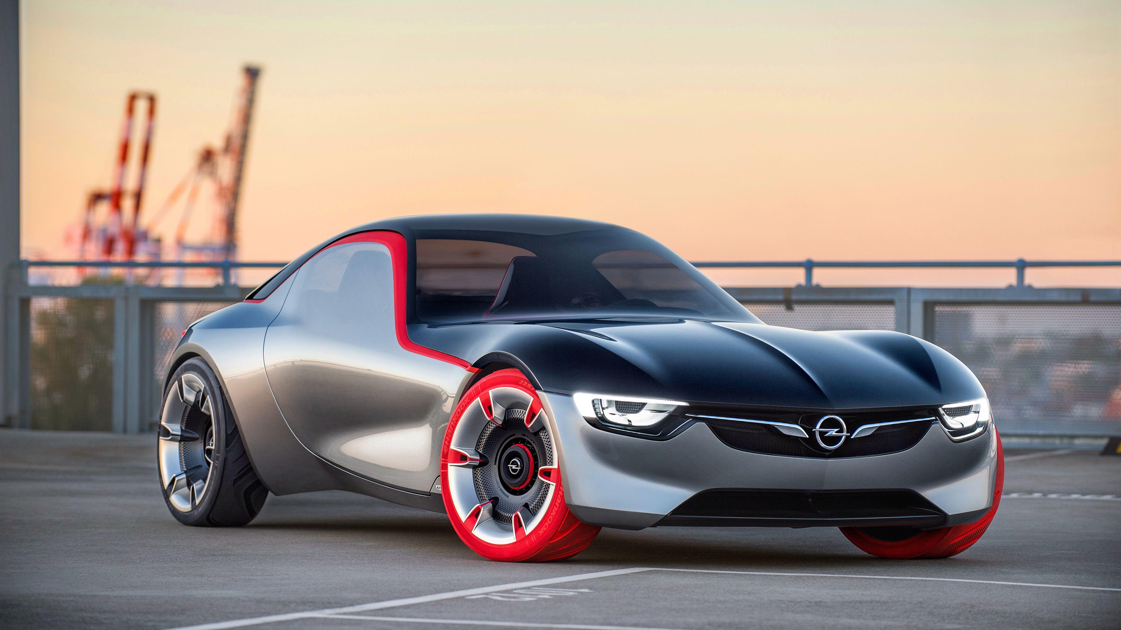 3840x2160 Opel GT Concept Hình nền.  Hình nền xe hơi HD