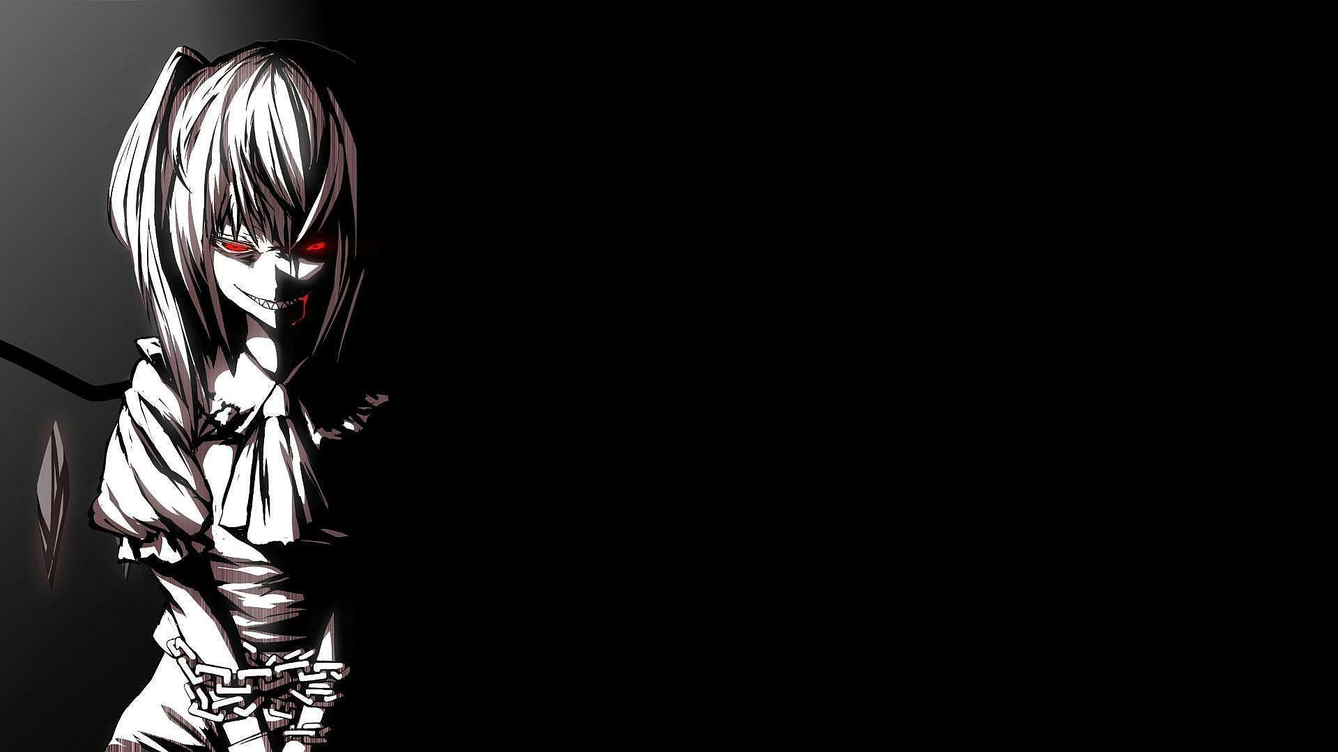 Dark Anime Wallpapers Top Free Dark Anime Backgrounds Wallpaperaccess