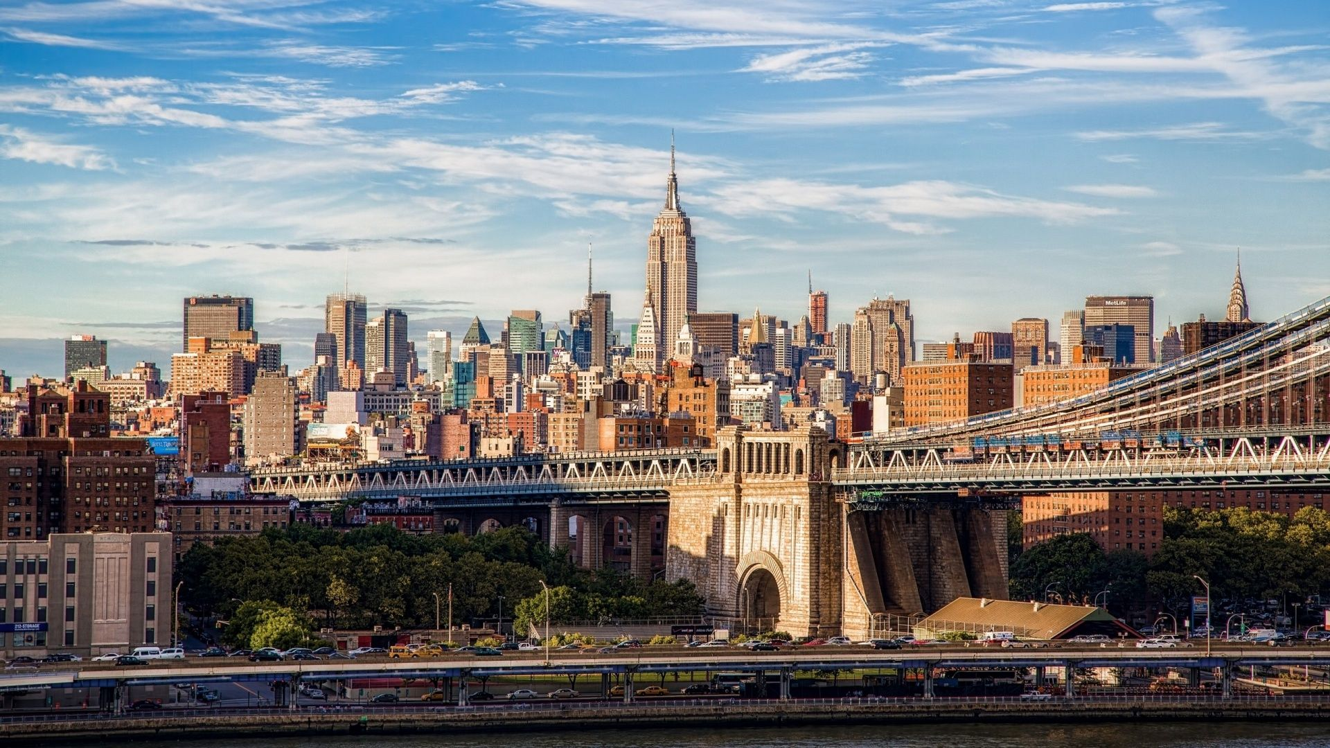 Brooklyn Bridge Wallpapers Top Free Brooklyn Bridge Backgrounds Wallpaperaccess