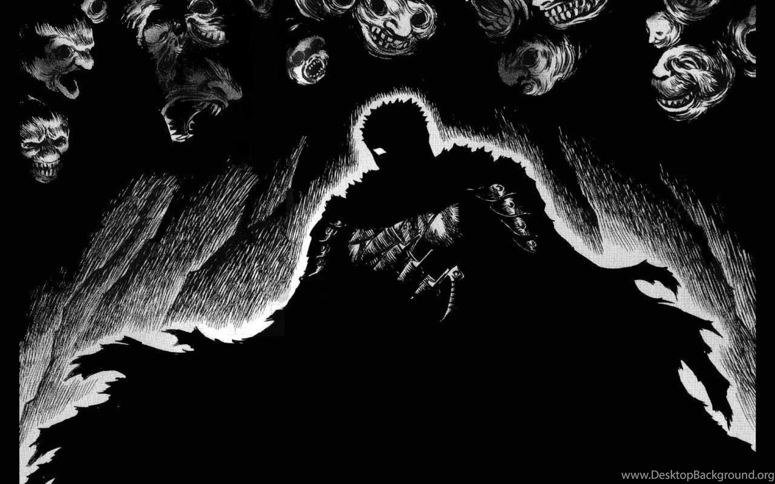 7000 Wallpaper Black Hd Anime  Terbaik