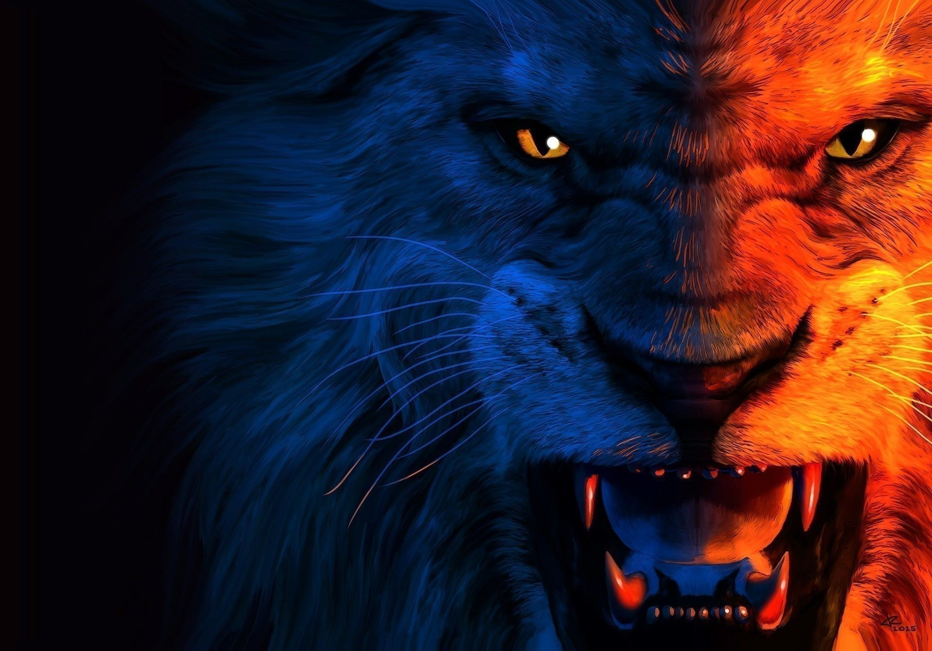Angry Lion Laptop Wallpapers - Top Free Angry Lion Laptop ...