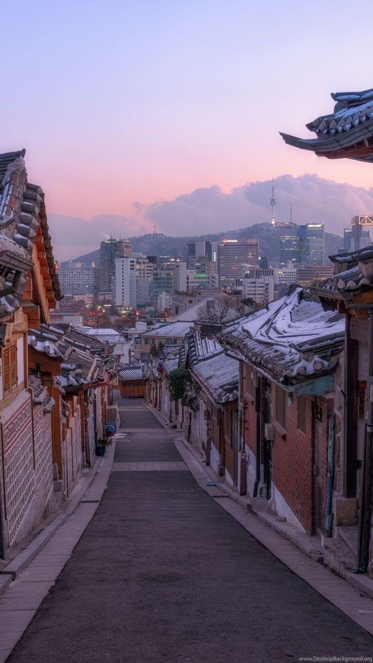 Korea city wallpapers top free korea city backgrounds wallpaperaccess - South korea wallpaper hd ...