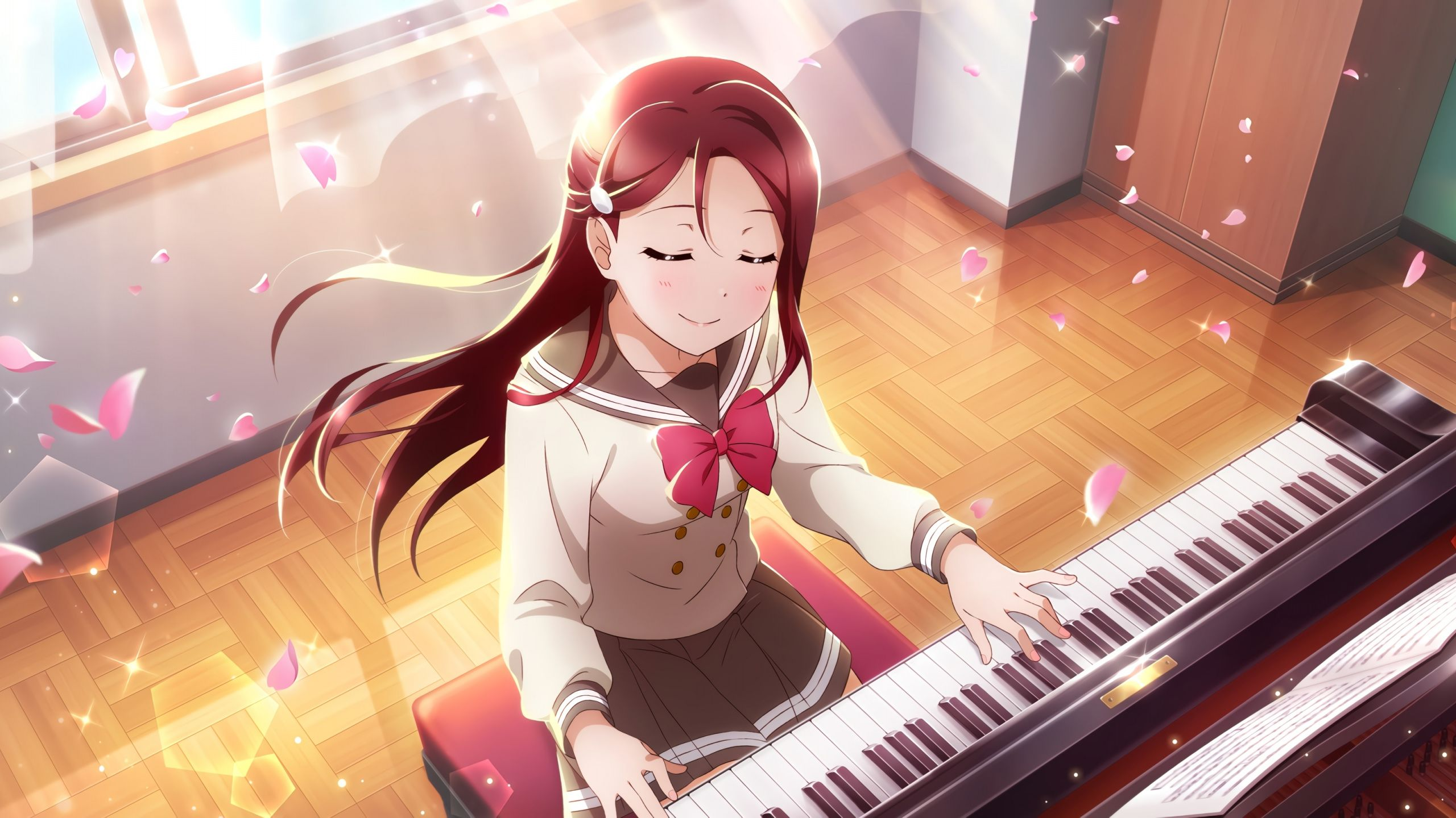 Anime Piano Wallpapers Top Free Anime Piano Backgrounds Wallpaperaccess