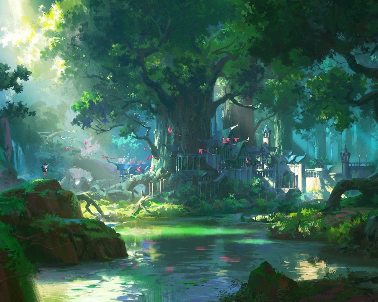 4k Anime Scenery Wallpapers - Top Free 4k Anime Scenery ...