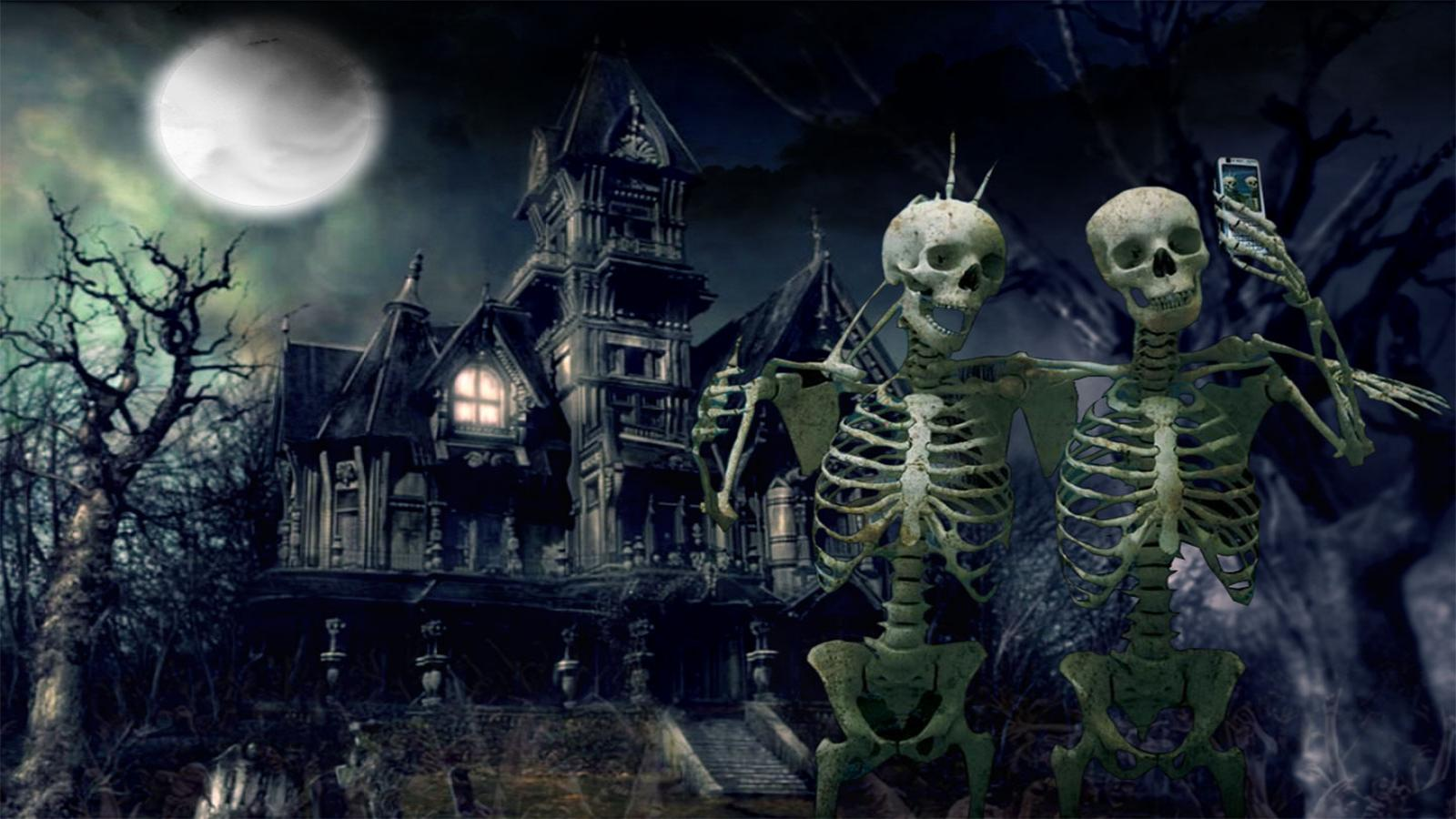 Spooky Halloween Wallpapers Top Free Spooky Halloween Backgrounds Wallpaperaccess