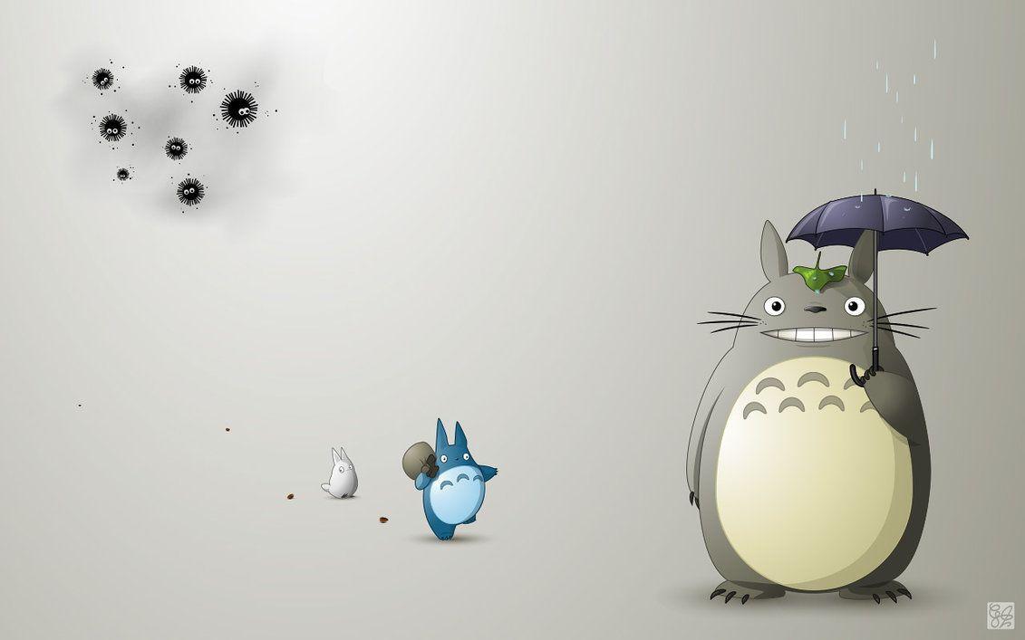 Little Totoro Wallpapers Top Free Little Totoro Backgrounds Wallpaperaccess