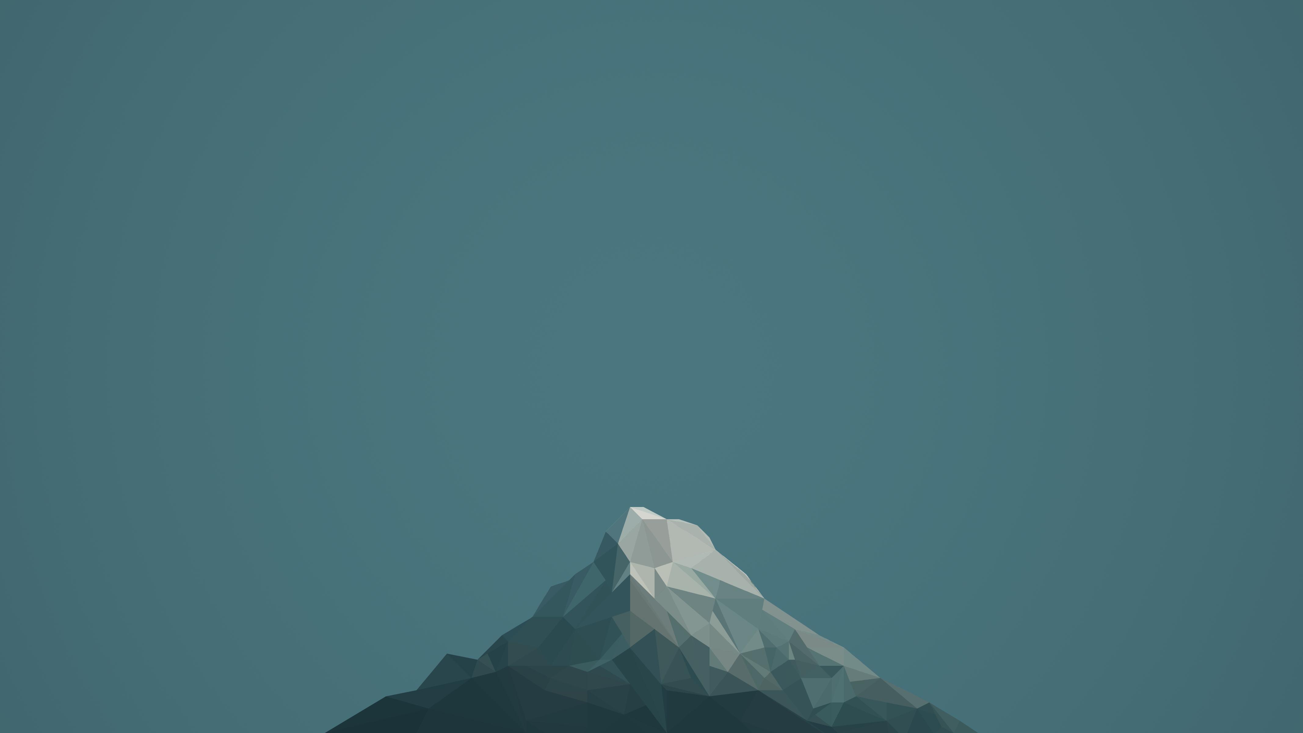 Minimalism Mountain Peak Full Hd Wallpaper: Top Free Minimalist Backgrounds
