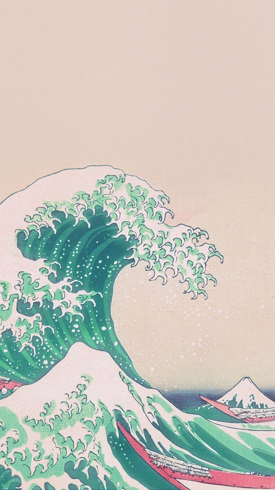 Hình nền thẩm mỹ màu xanh lá cây 1080x1920