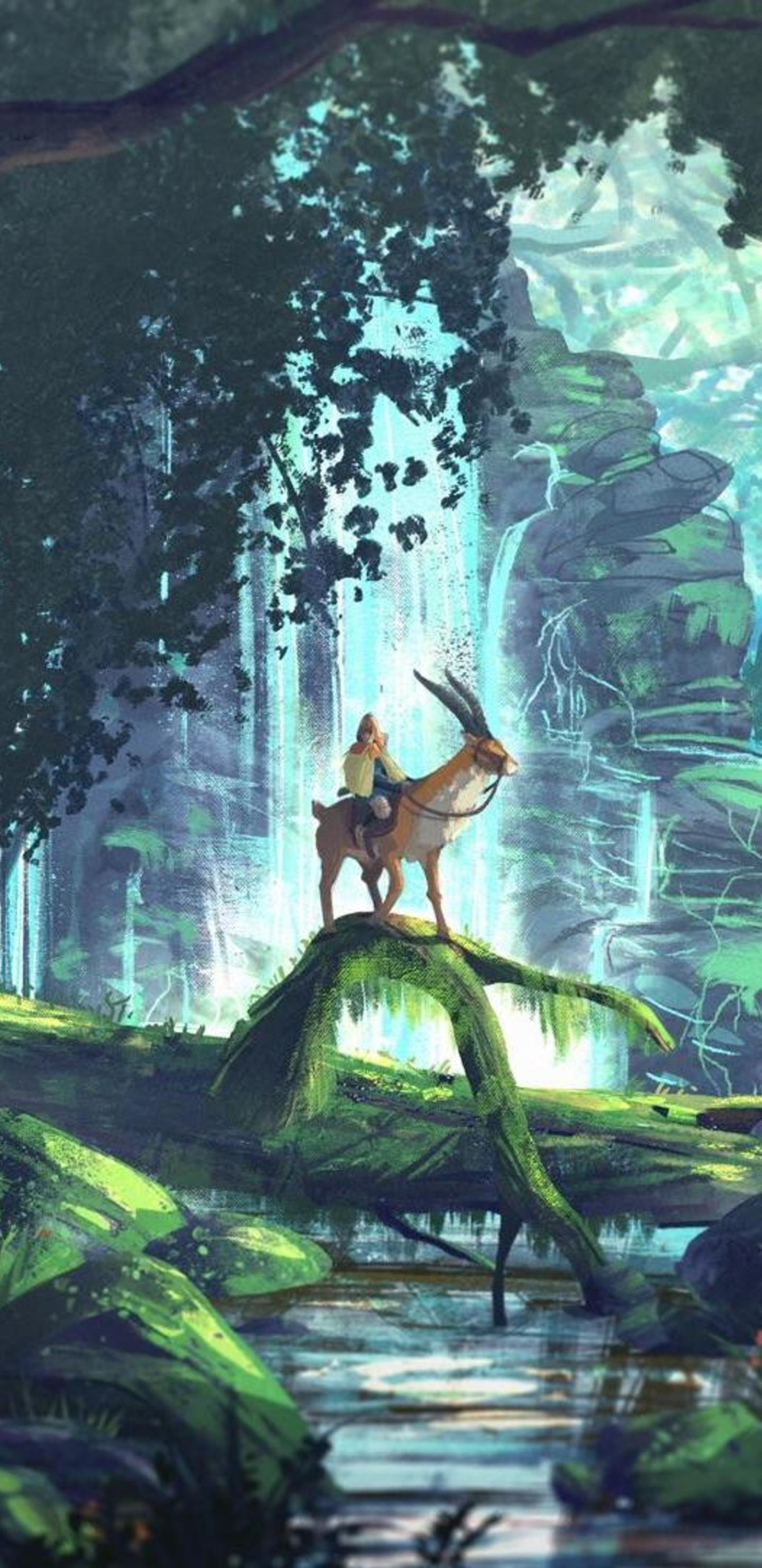 Princess Mononoke Phone Wallpapers Top Free Princess Mononoke Phone Backgrounds Wallpaperaccess