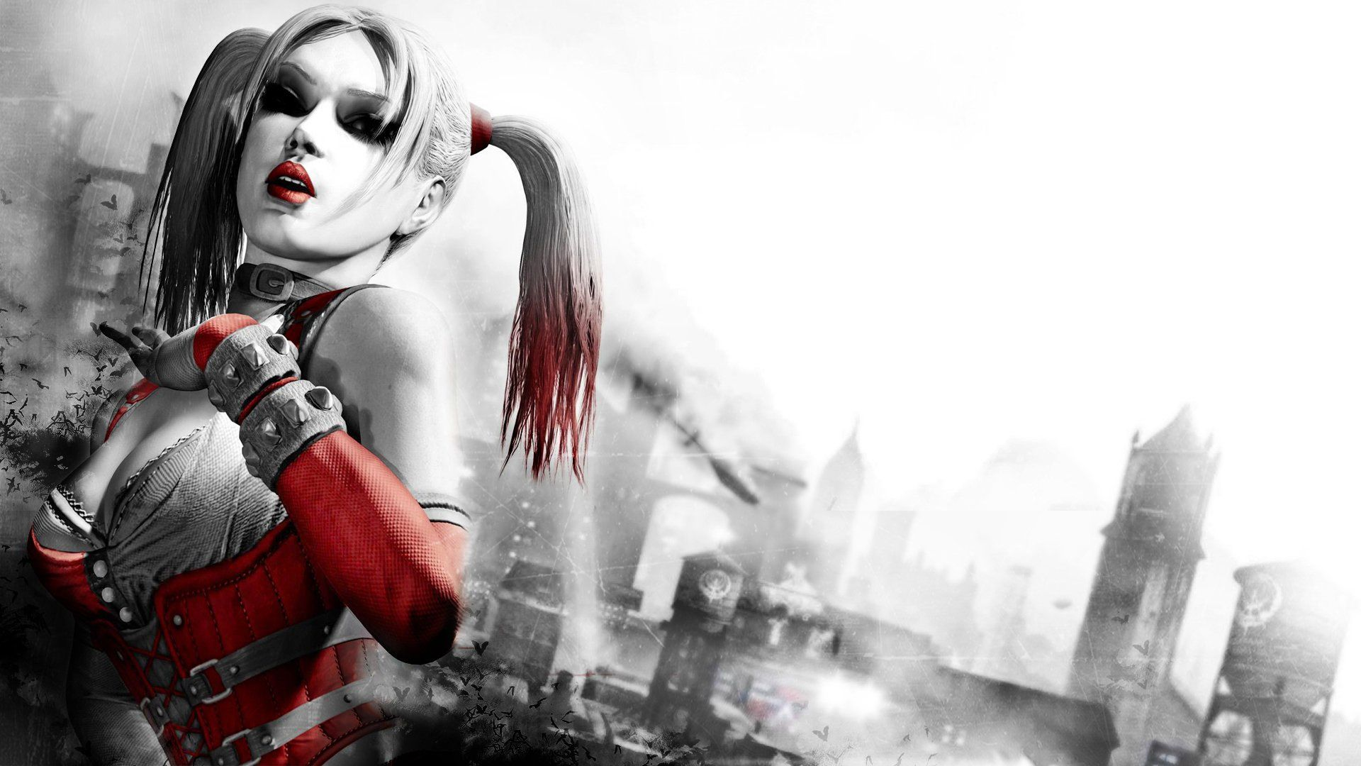Harley Quinn Arkham City Wallpapers Top Free Harley Quinn