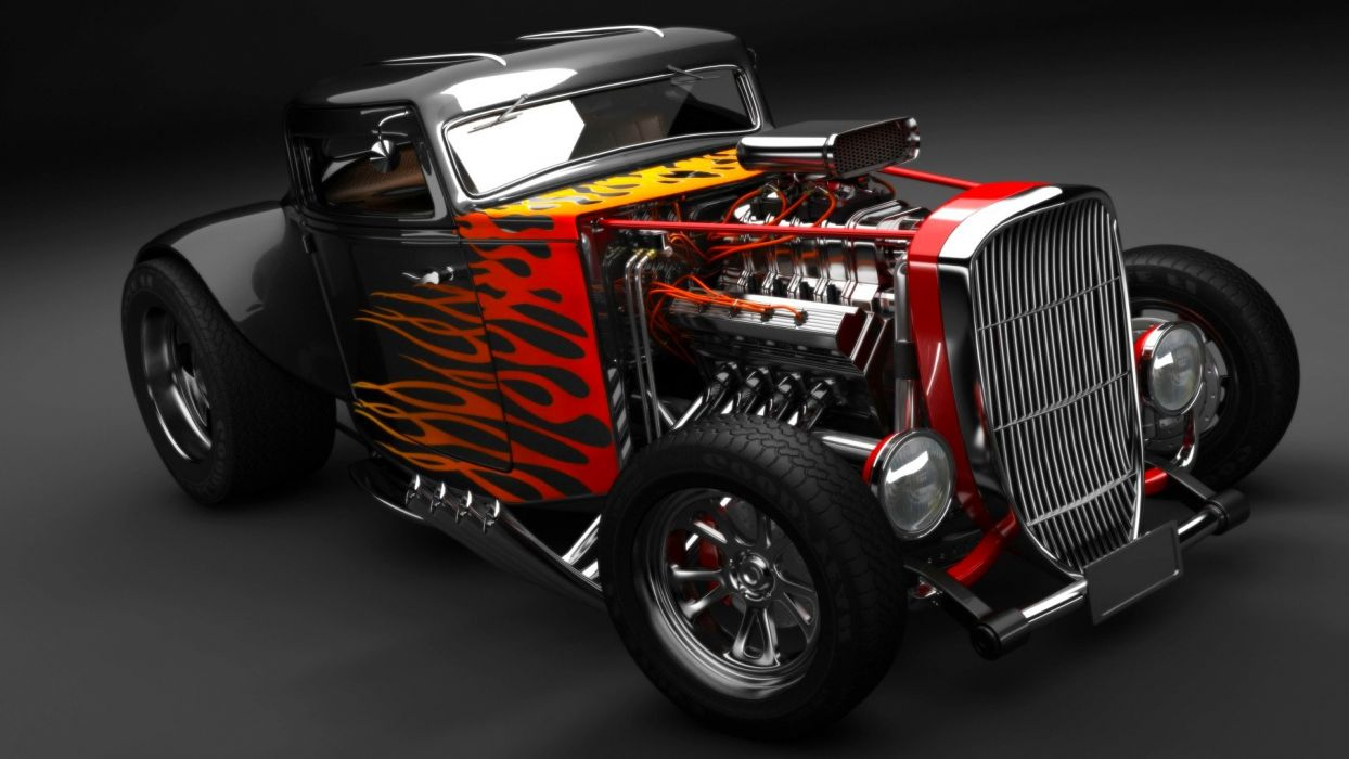 Hot Rod Wallpapers - Top Free Hot Rod