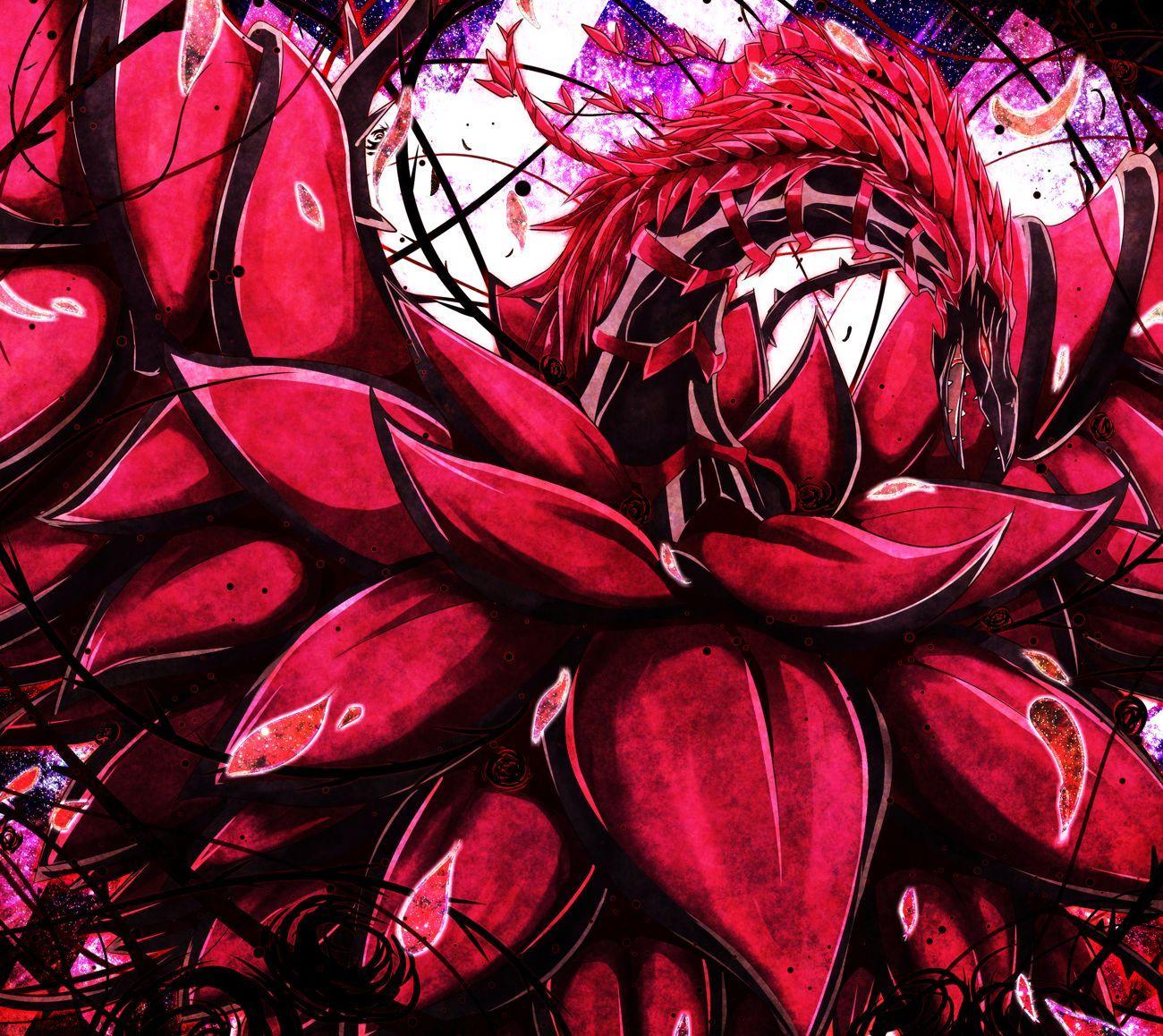 Image result for rose dragon fan art
