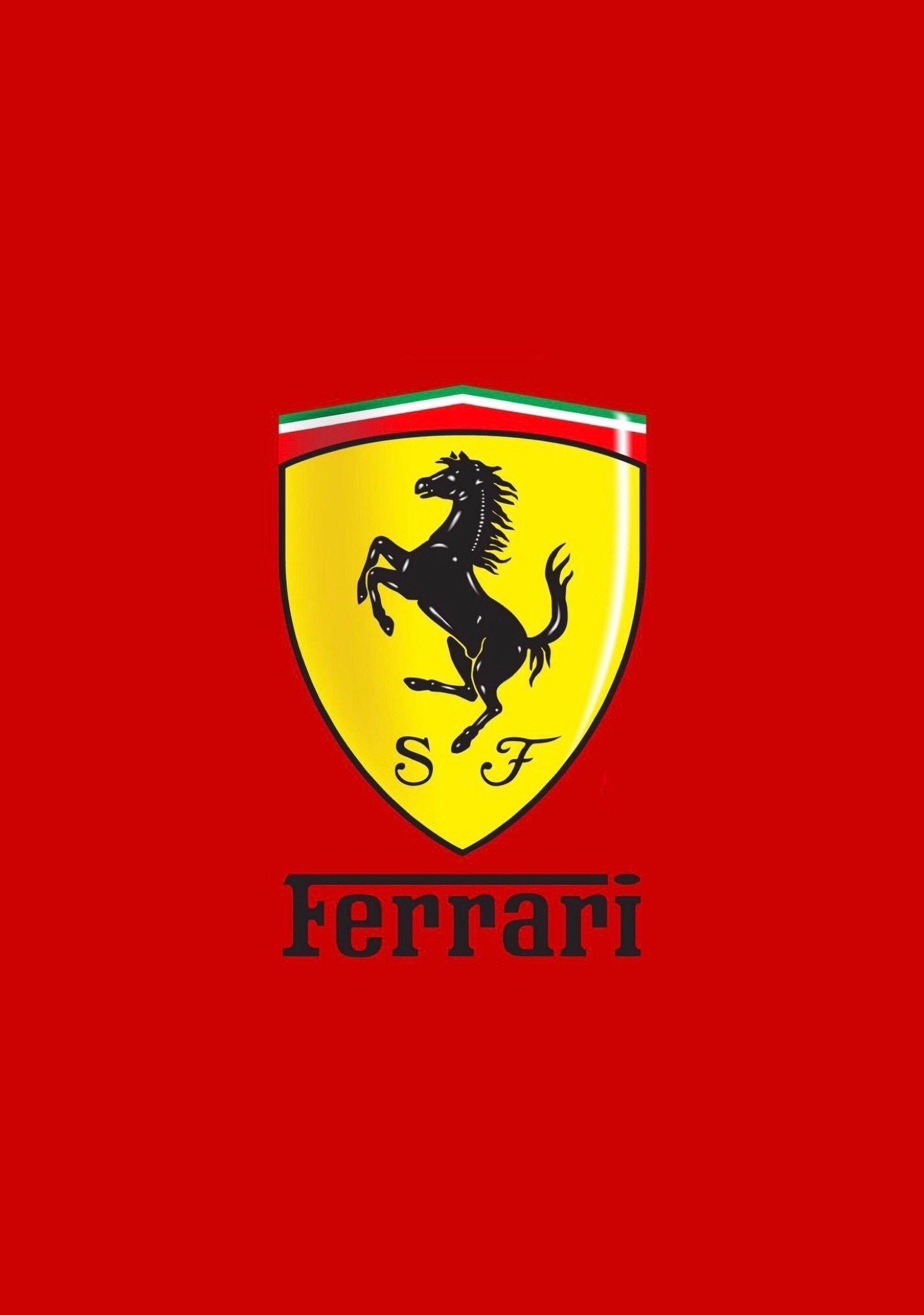 Ferrari Logo Iphone Wallpapers Top Free Ferrari Logo Iphone Backgrounds Wallpaperaccess