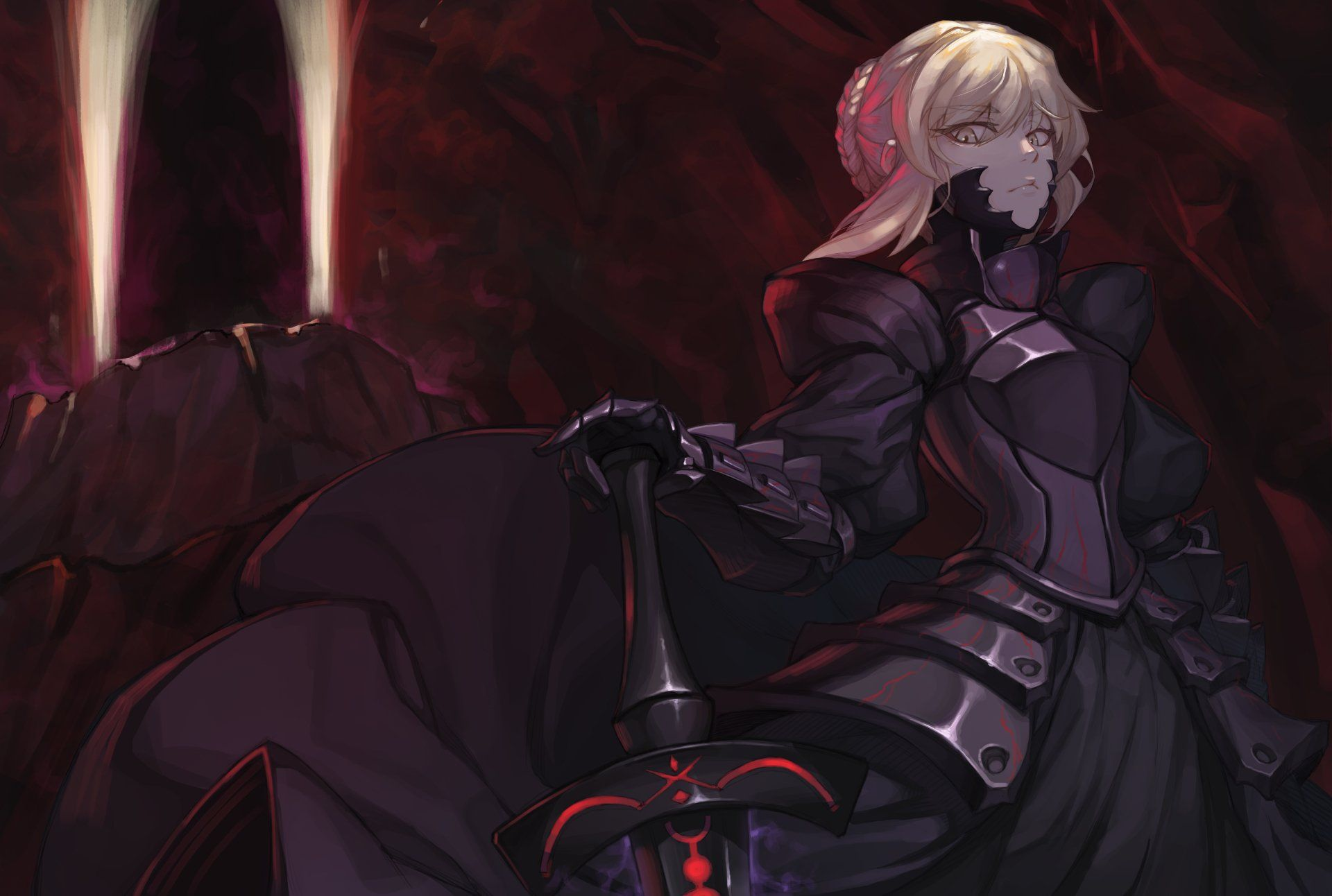 Saber Alter Wallpapers Top Free Saber Alter Backgrounds Wallpaperaccess