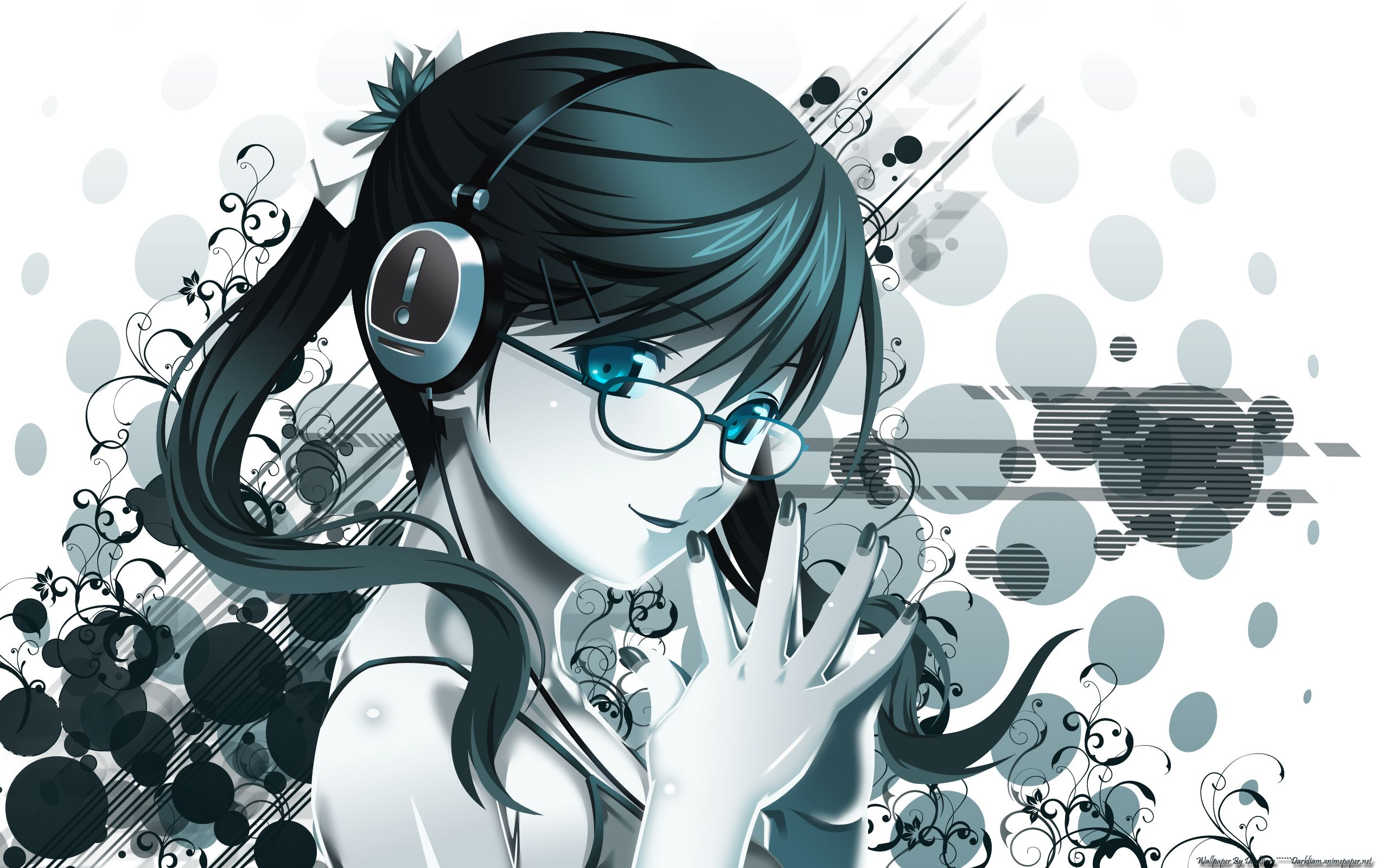 Anime Girl With Headphones Wallpapers Top Free Anime Girl With Headphones Backgrounds Wallpaperaccess